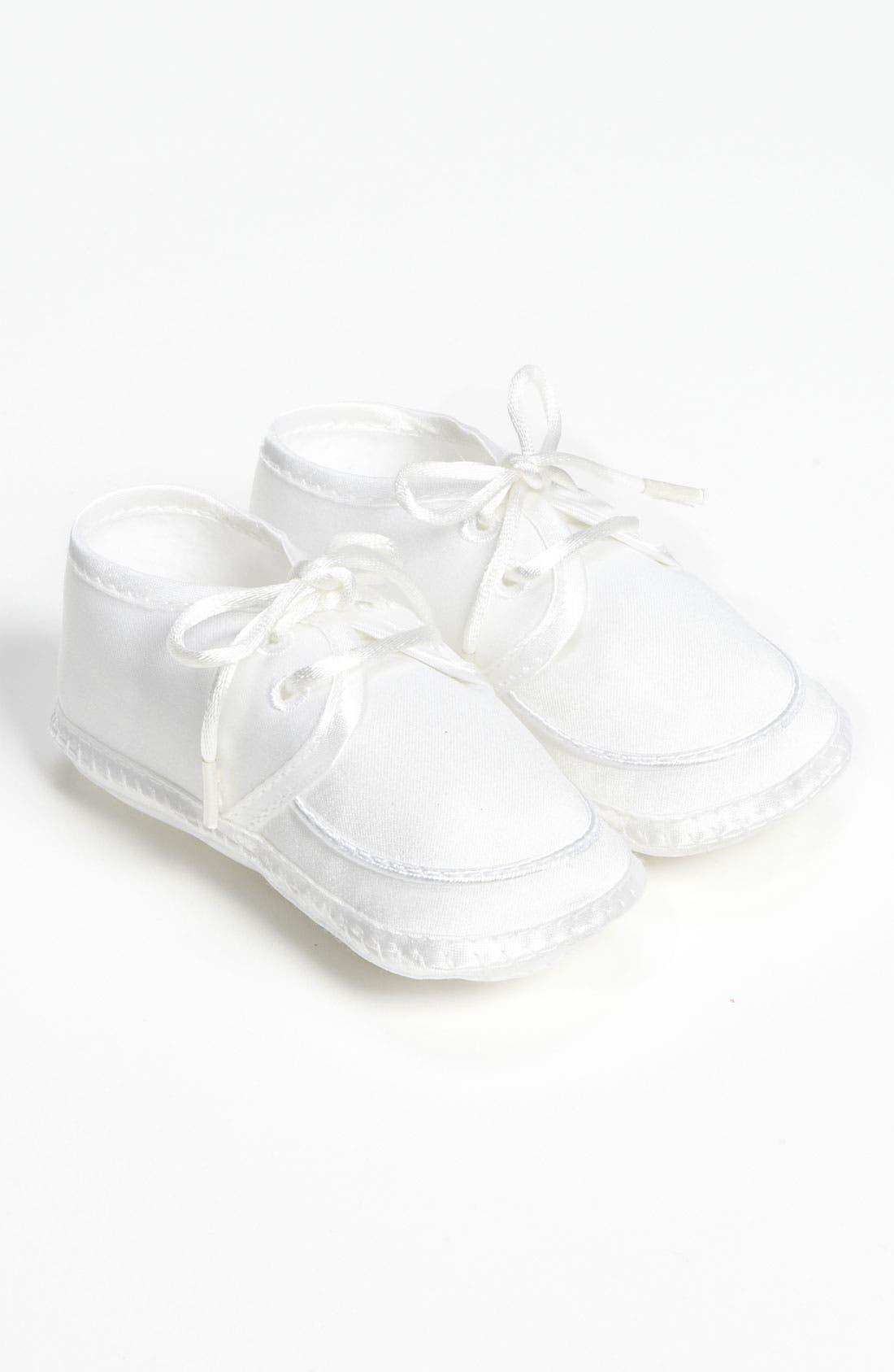 LITTLE THINGS MEAN A LOT Matte Satin Shoe, Main, color, WHITE