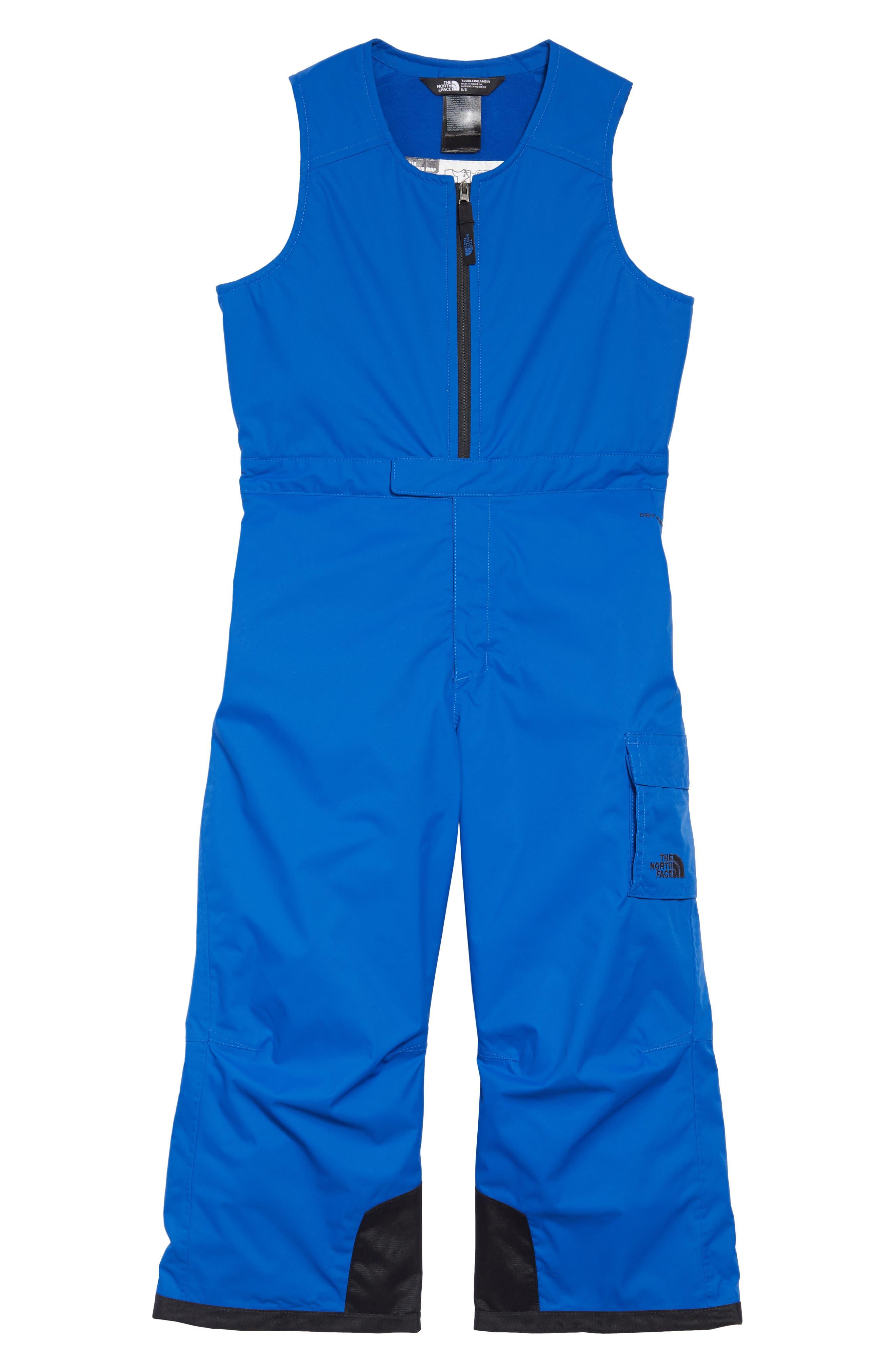 Boys The North Face Waterproof Heatseeker(TM) Insulated Bib Snowsuit Size 5  Blue