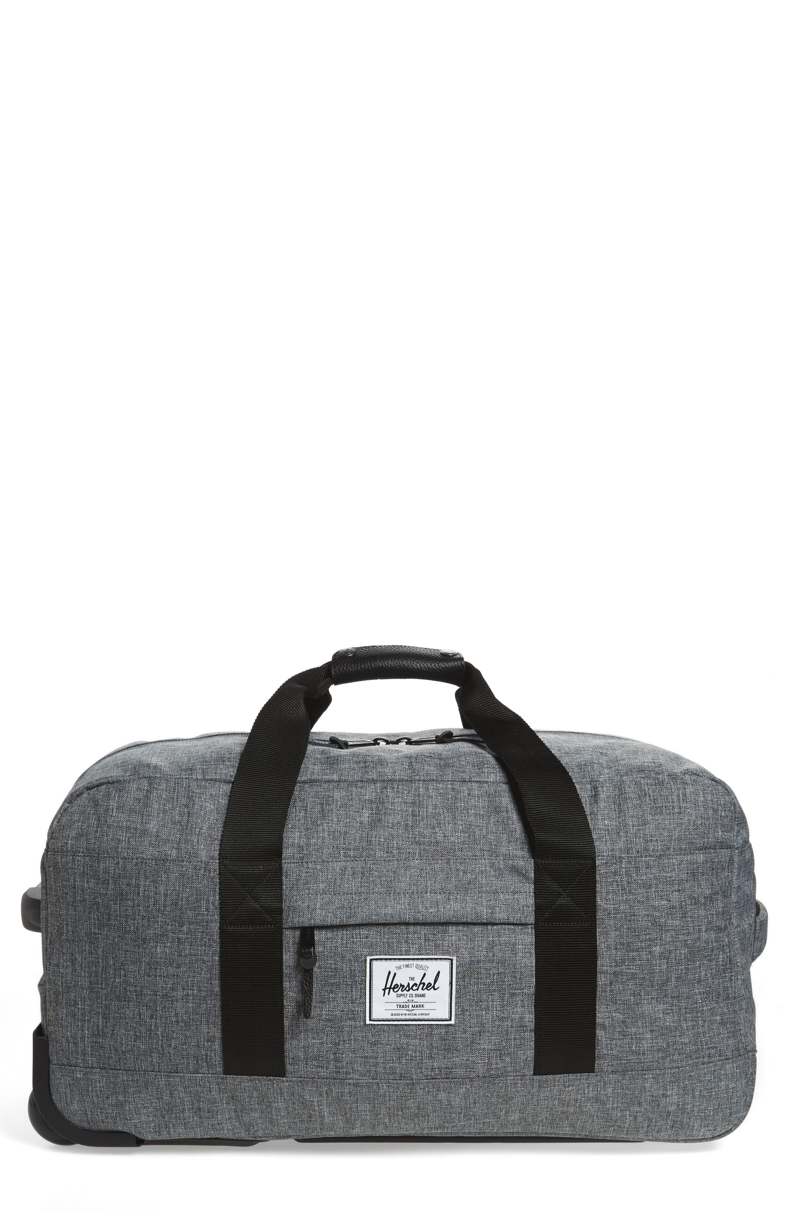 HERSCHEL SUPPLY CO., Wheelie Outfitter 24-Inch Duffel Bag, Main thumbnail 1, color, 084