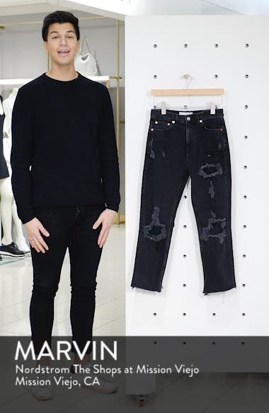Ripped Straight Jeans, sales video thumbnail