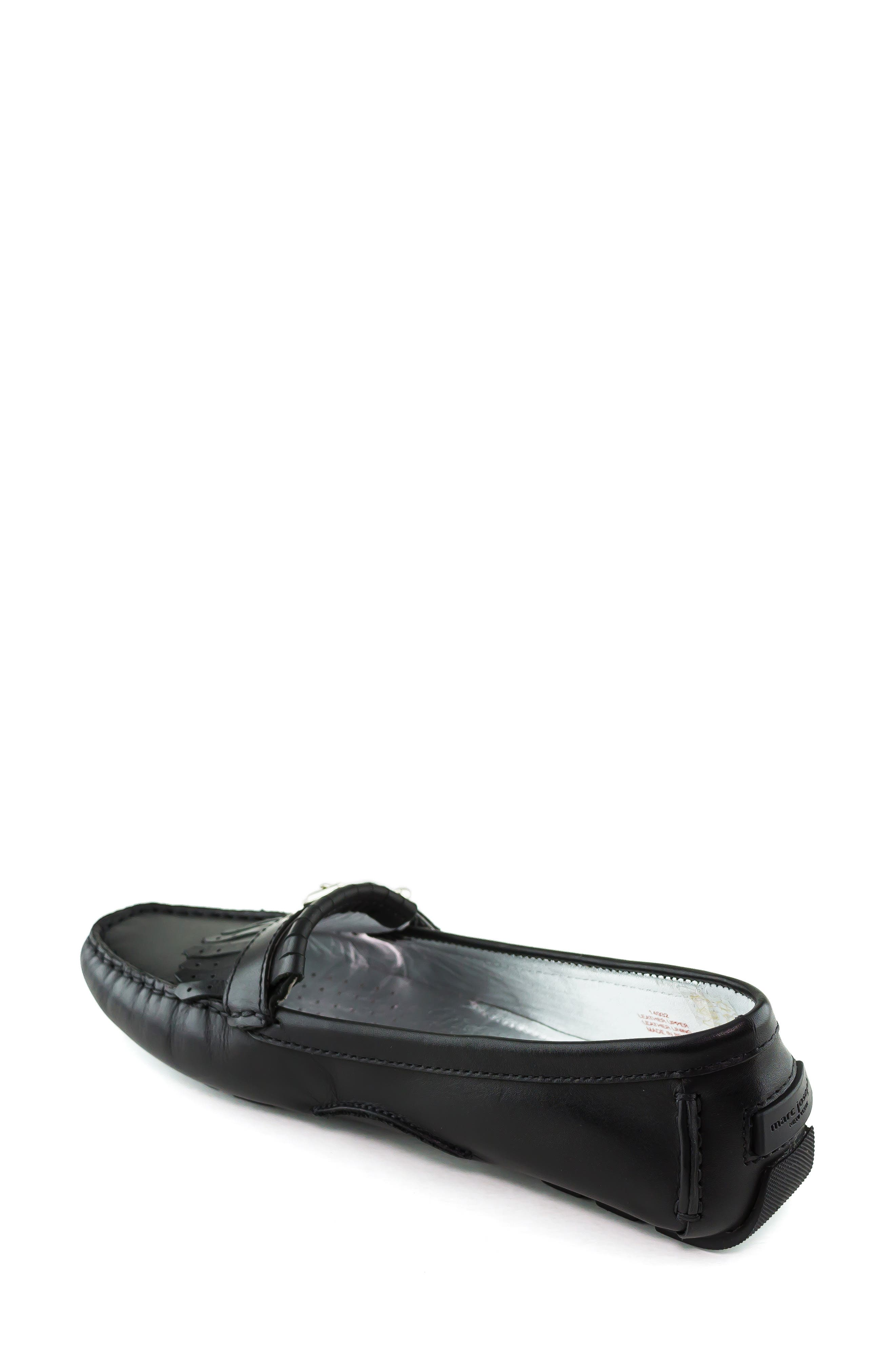 MARC JOSEPH NEW YORK, South Street Loafer, Alternate thumbnail 2, color, BLACK LEATHER