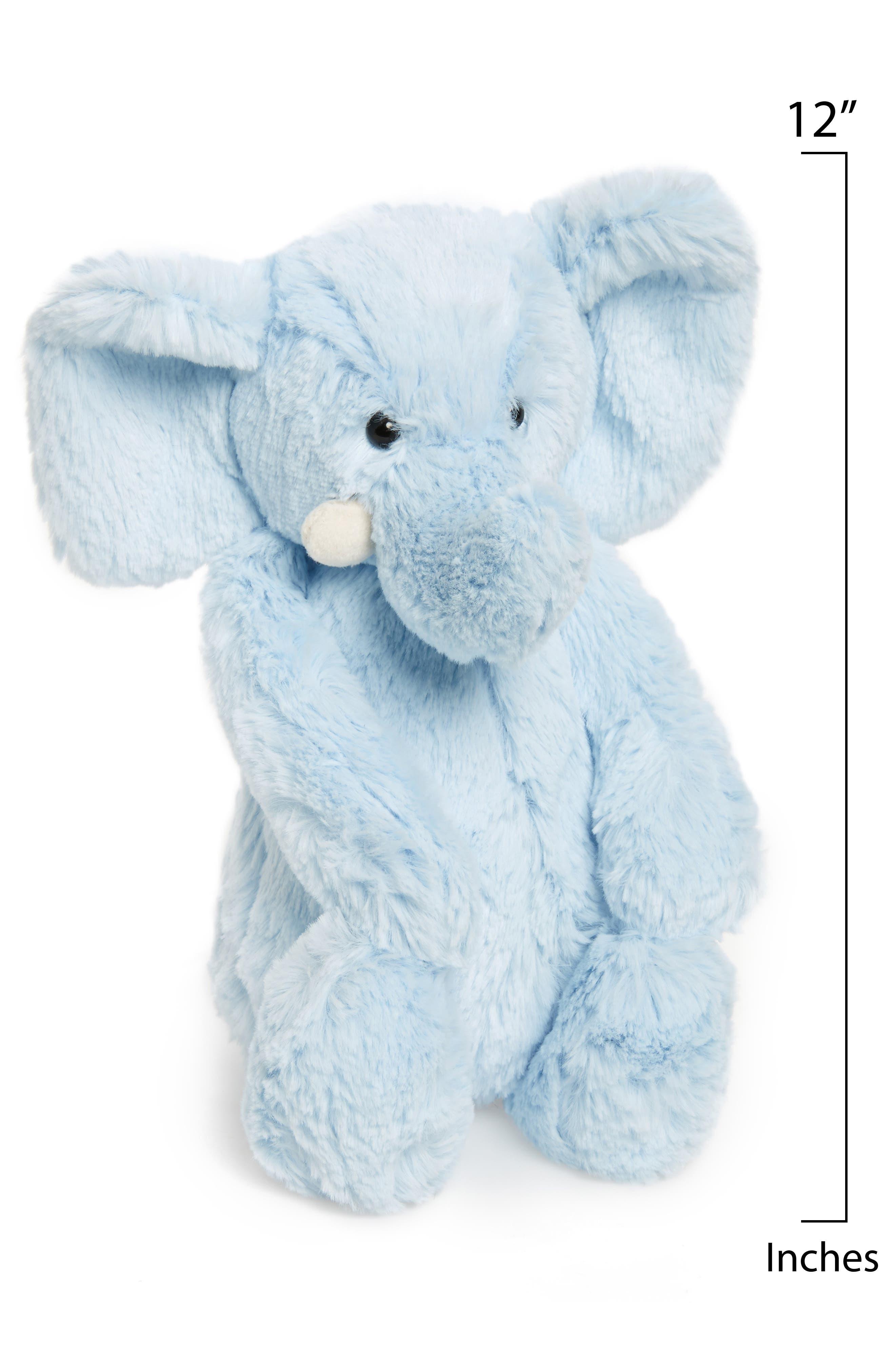 JELLYCAT, Chime Stuffed Elephant, Alternate thumbnail 2, color, 450