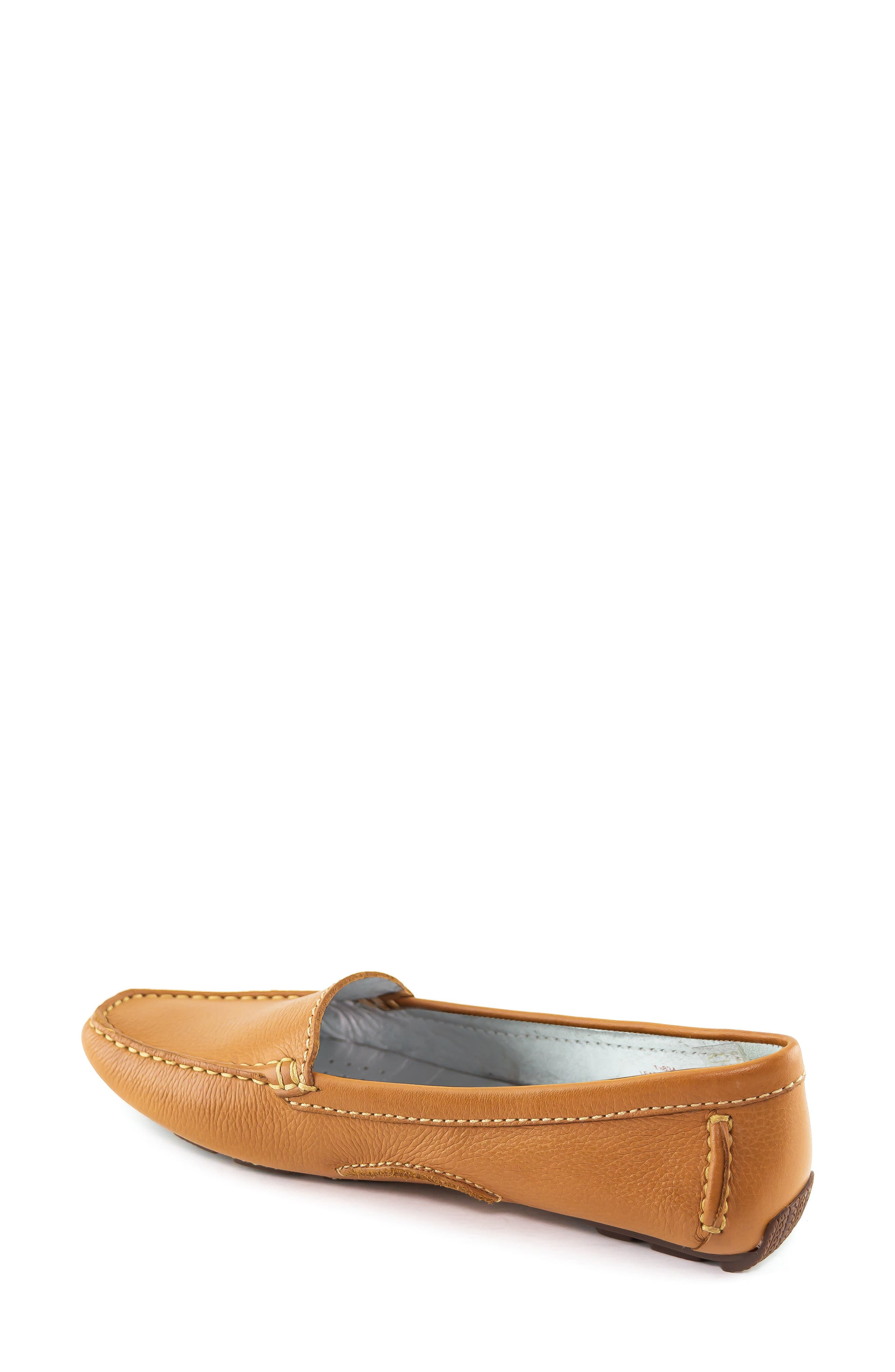 MARC JOSEPH NEW YORK, Manhasset Loafer, Alternate thumbnail 2, color, TAN/ NATURAL LEATHER