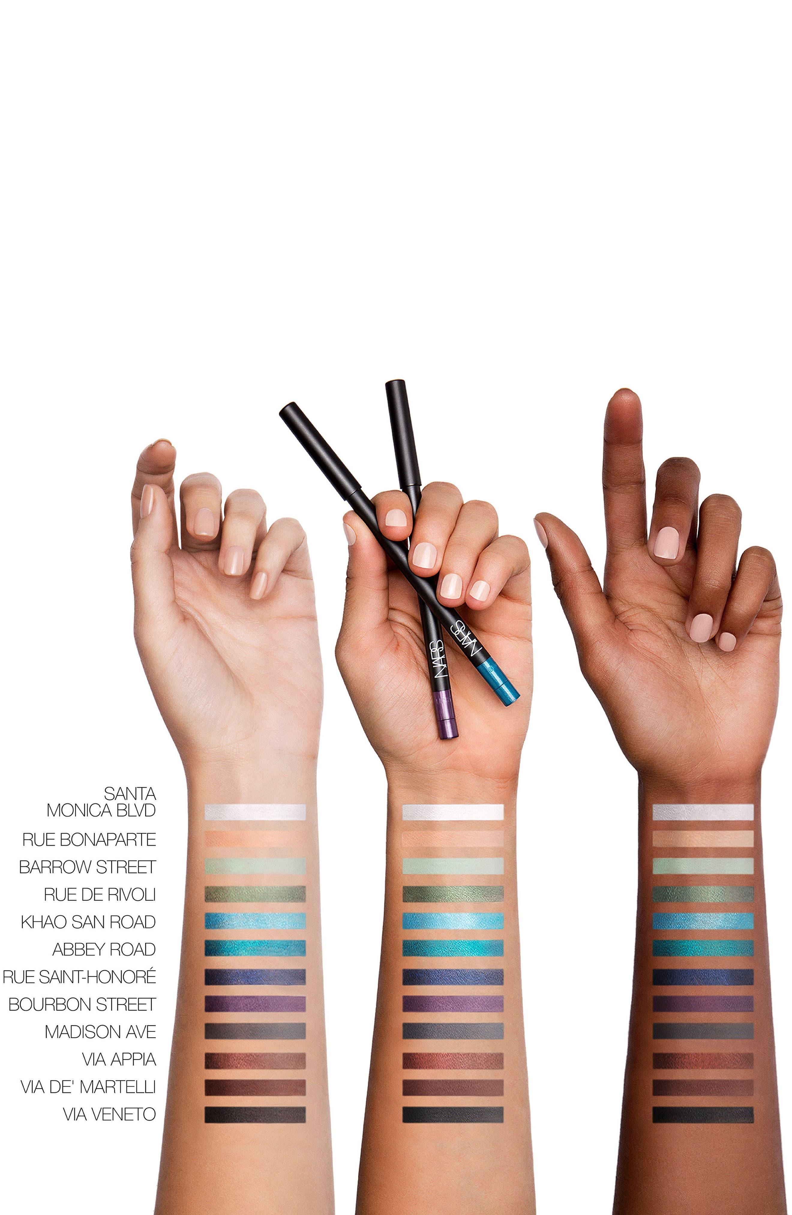 NARS, Larger Than Life Long Wear Eyeliner, Alternate thumbnail 2, color, VIA VENETO