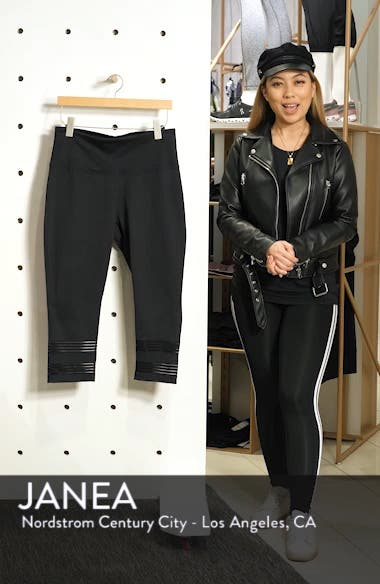 Twin High Waist Crop Leggings, sales video thumbnail