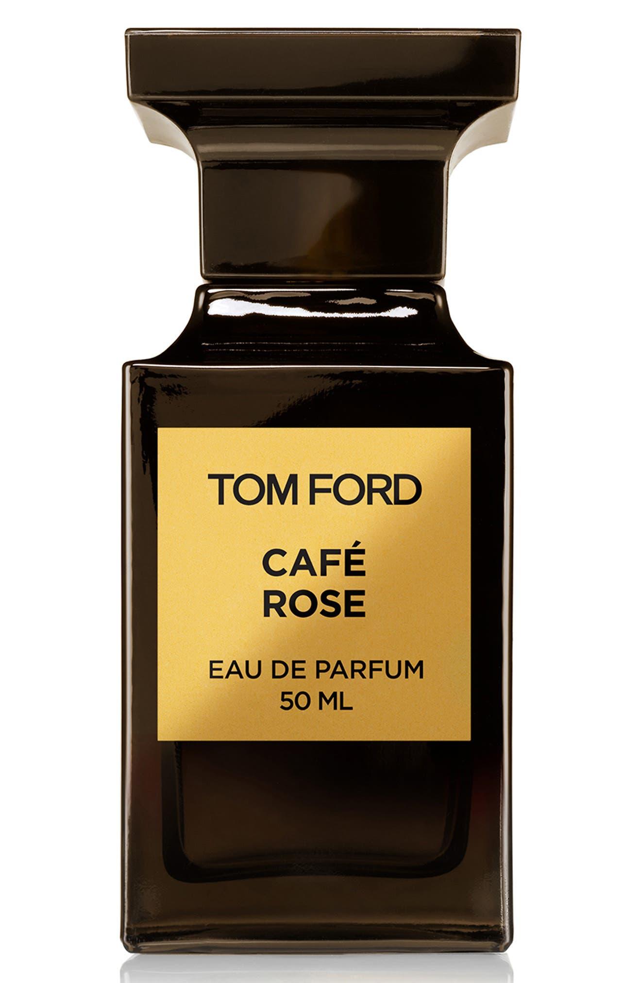 TOM FORD, Private Blend Café Rose Eau de Parfum, Main thumbnail 1, color, NO COLOR