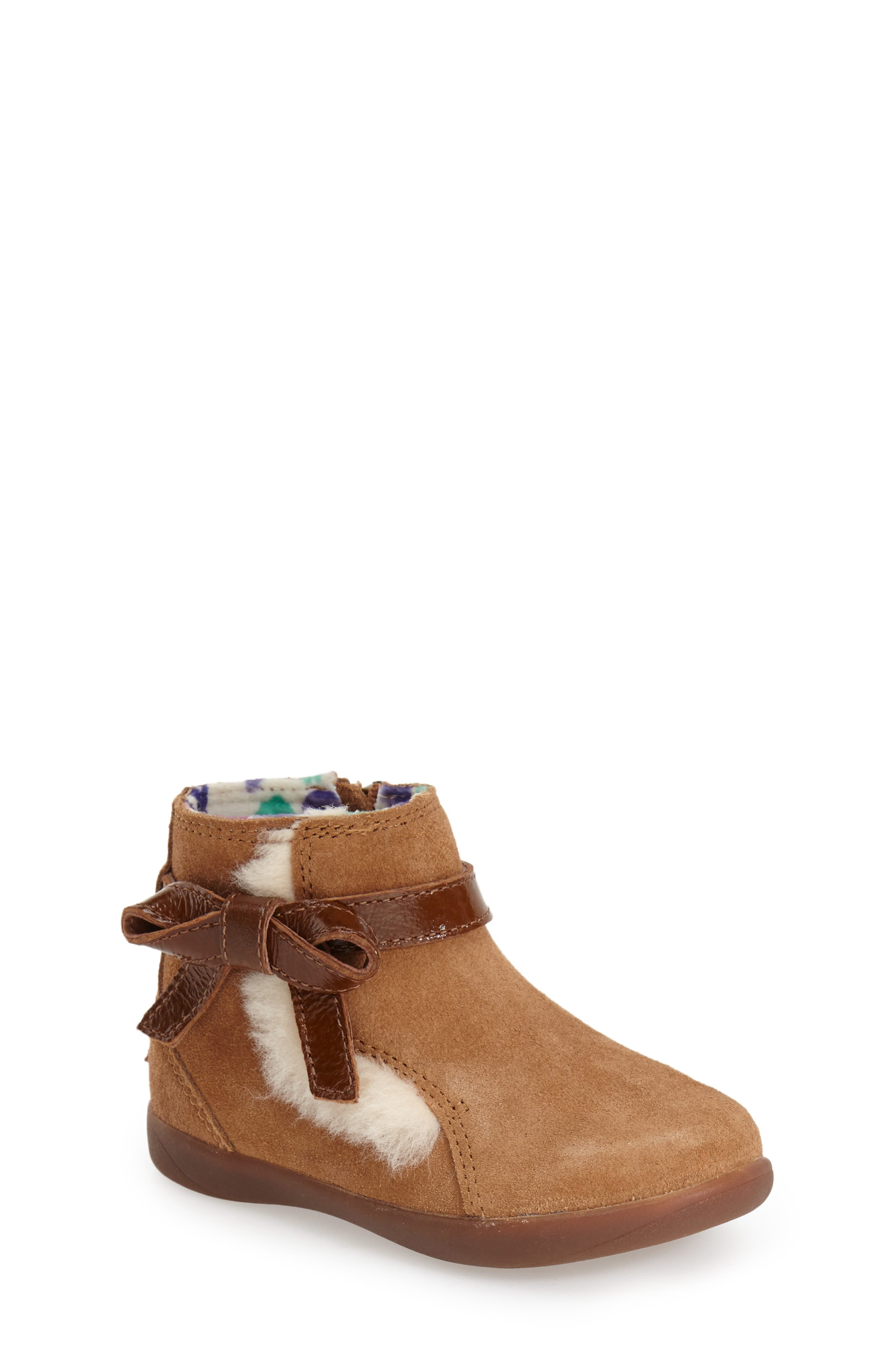 UGG<SUP>®</SUP>, Australia Libbie Boot, Main thumbnail 1, color, CHESTNUT BROWN