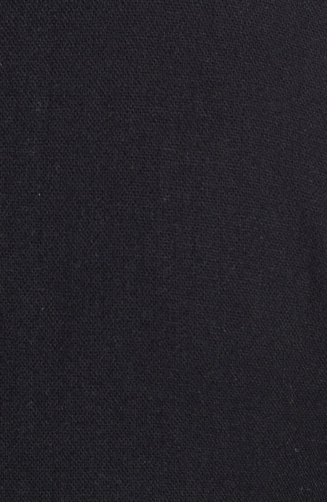 DOCKERS<SUP>®</SUP>, Dockers Trim Fit Wool Blend Blazer, Alternate thumbnail 4, color, 001
