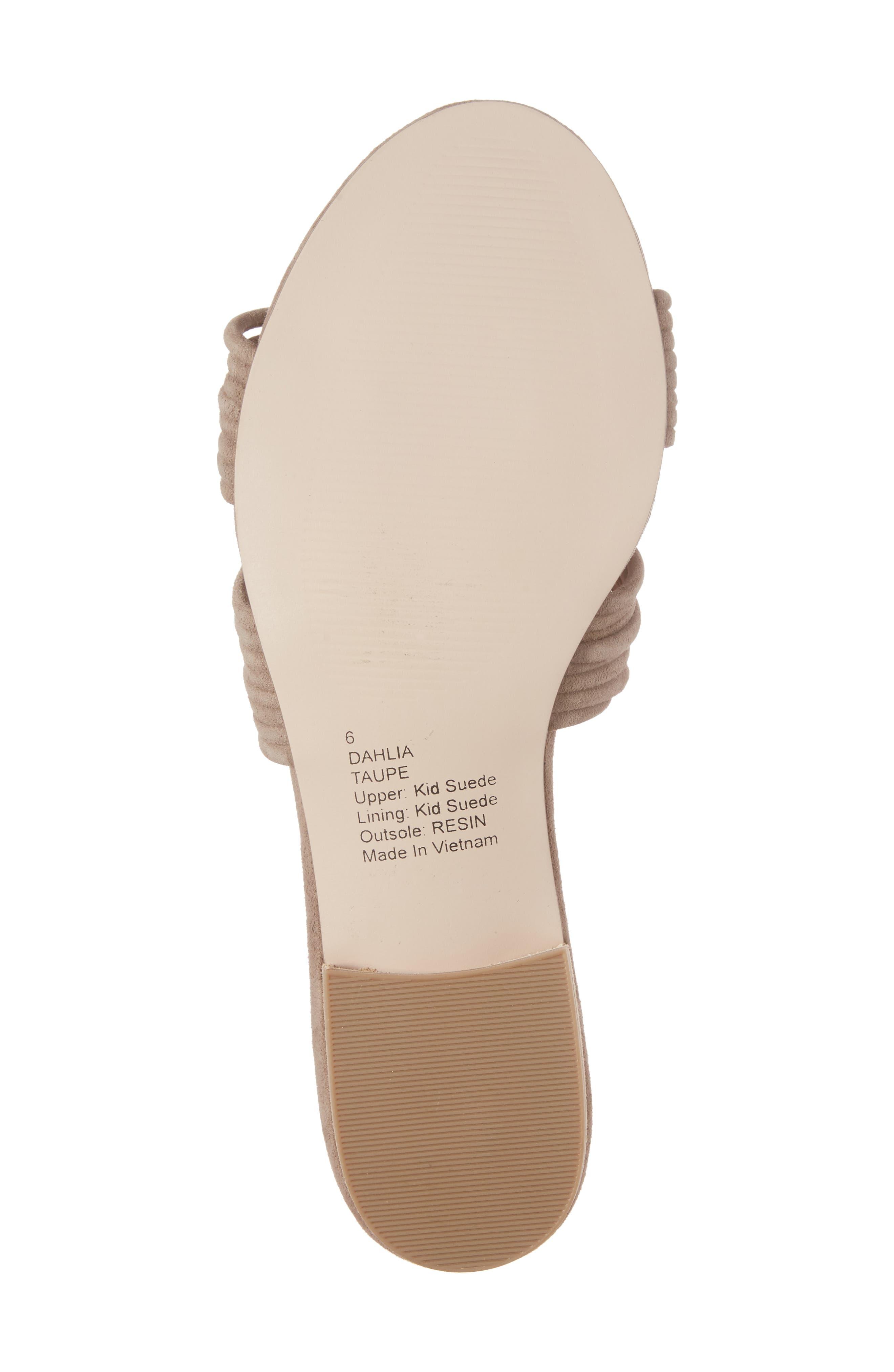 SOLE SOCIETY, Dahlia Flat Sandal, Alternate thumbnail 6, color, 240
