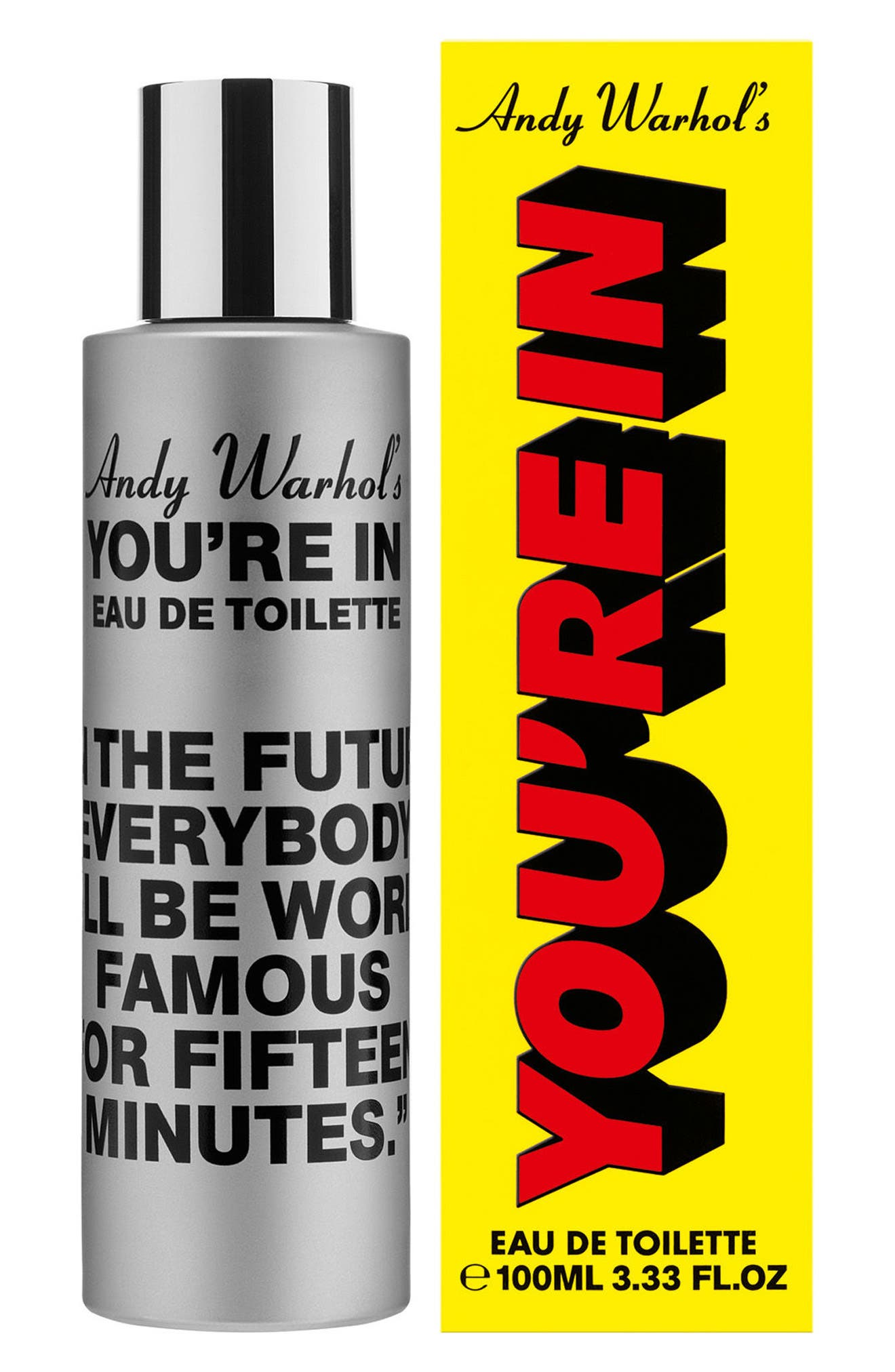 COMME DES GARÇONS, Andy Warhol You're In Unisex Eau de Toilette, Alternate thumbnail 2, color, IN THE FUTURE