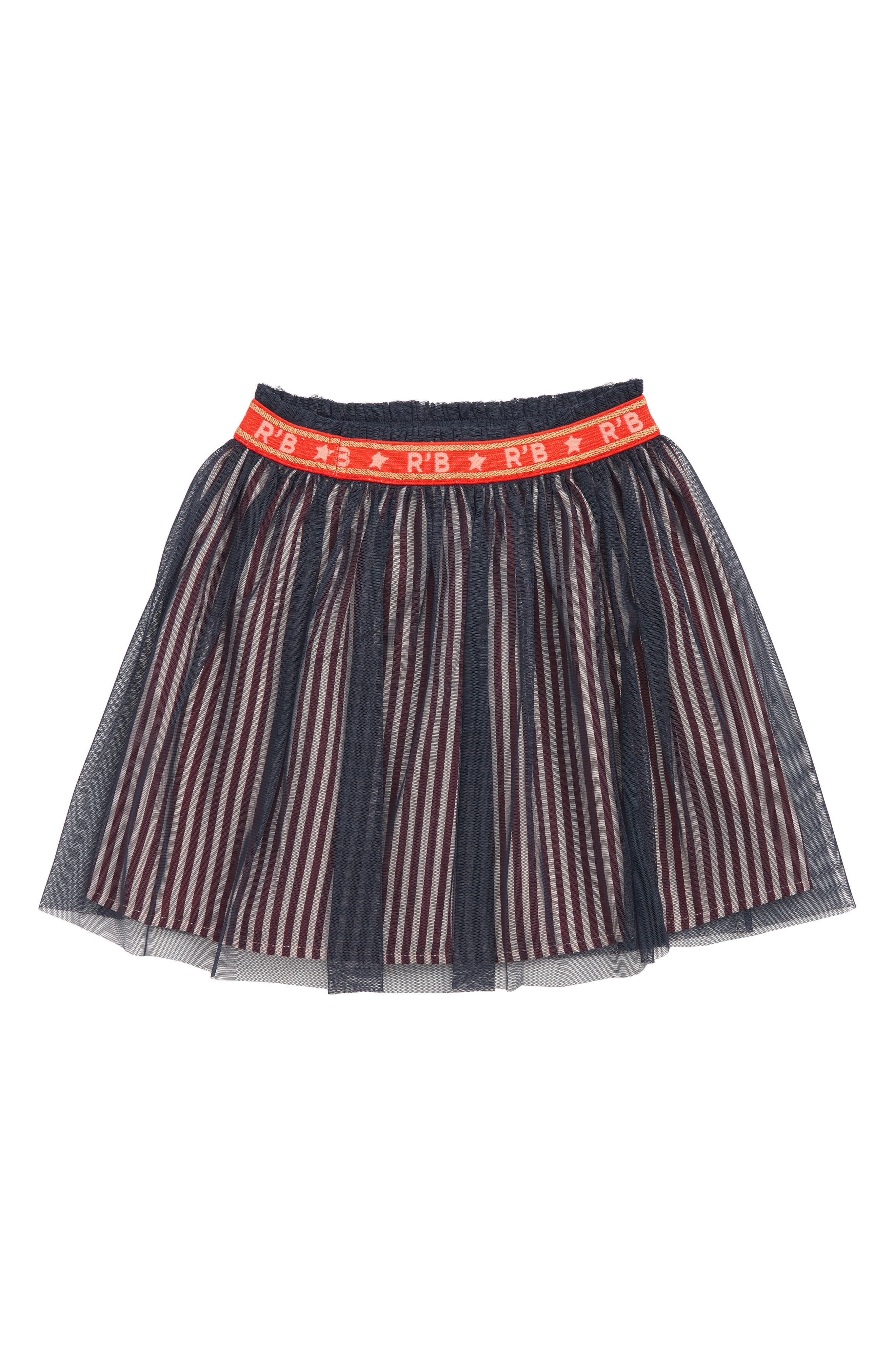 SCOTCH R'BELLE, Tulle Skirt, Main thumbnail 1, color, 593 N