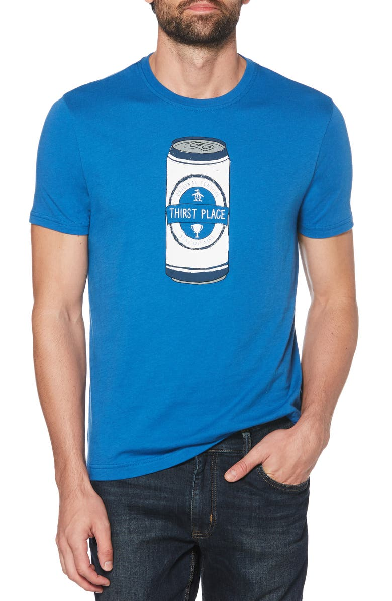 Original Penguin T-shirts THIRST PLACE T-SHIRT