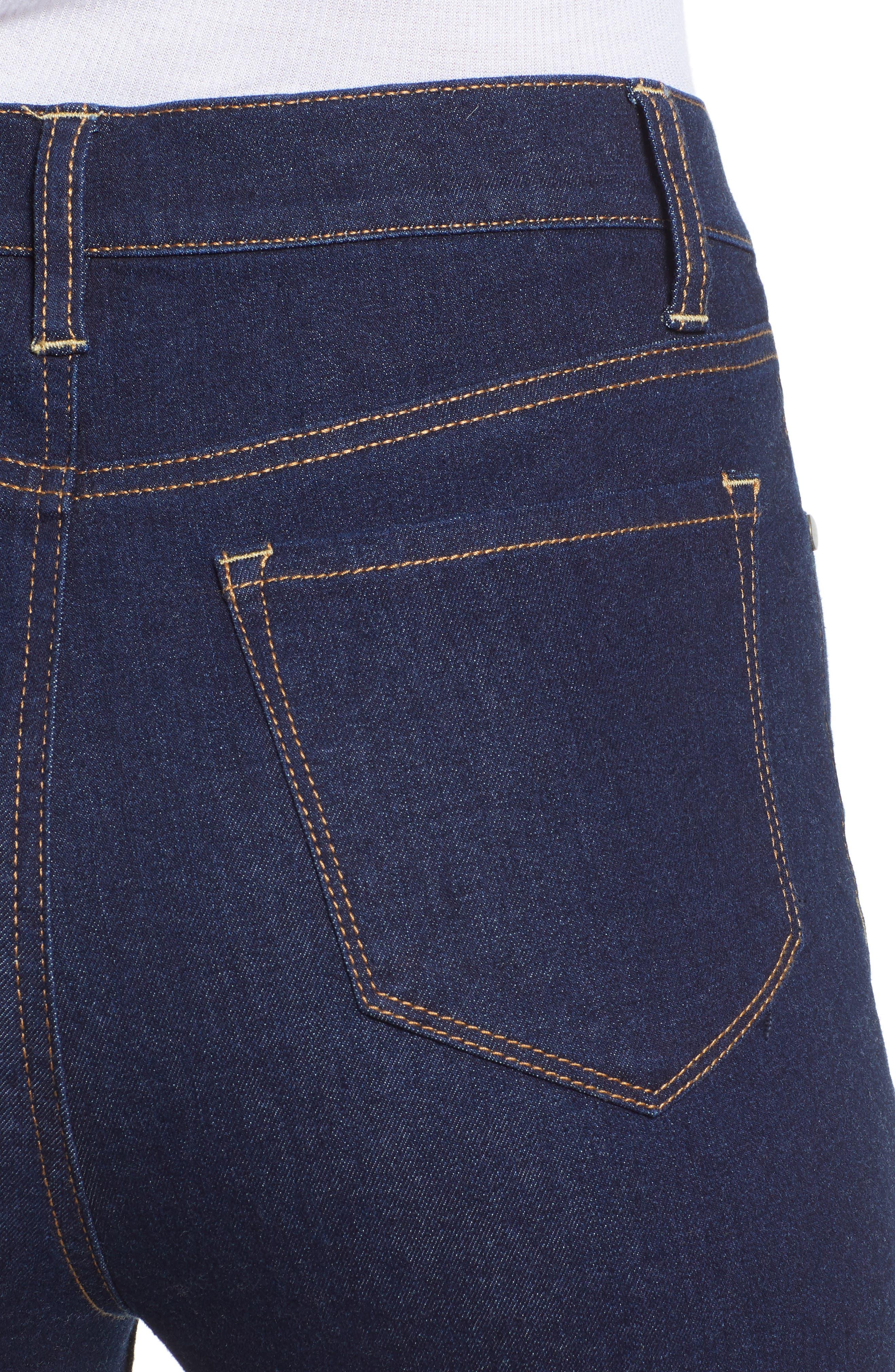 TINSEL, High Waist Skinny Jeans, Alternate thumbnail 5, color, 401