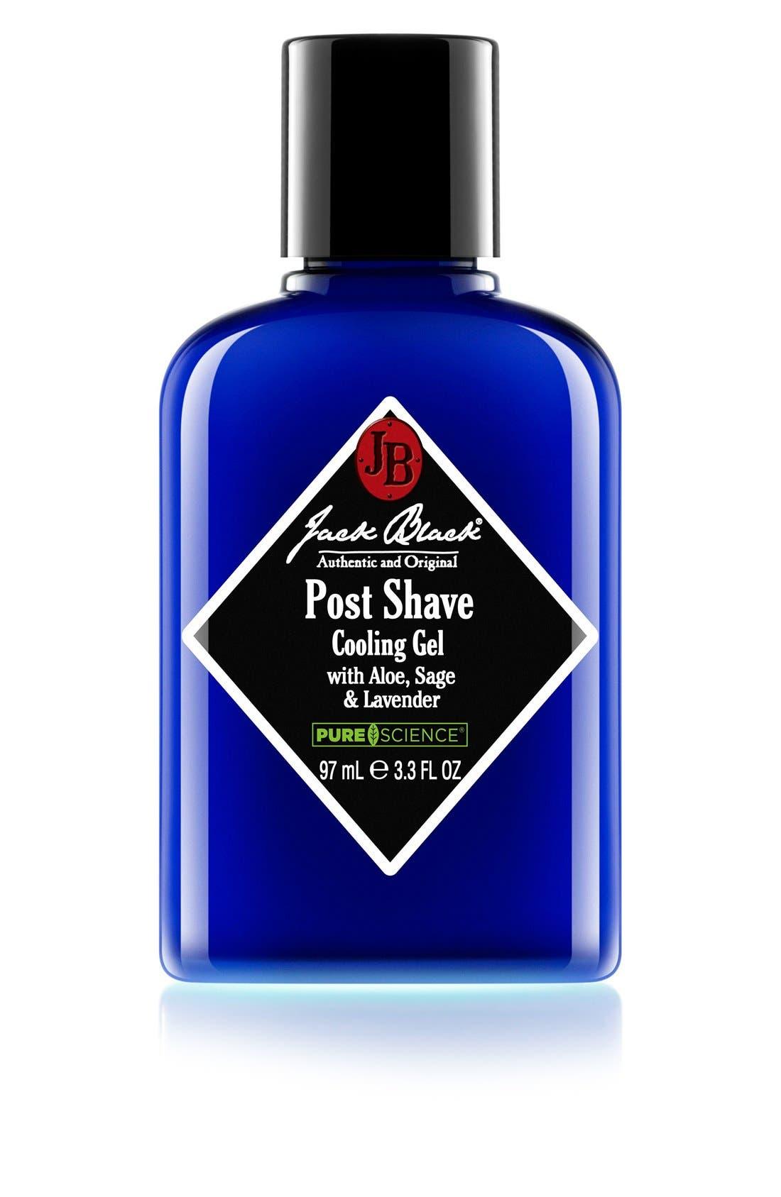 JACK BLACK, Post Shave Cooling Gel, Main thumbnail 1, color, NO COLOR