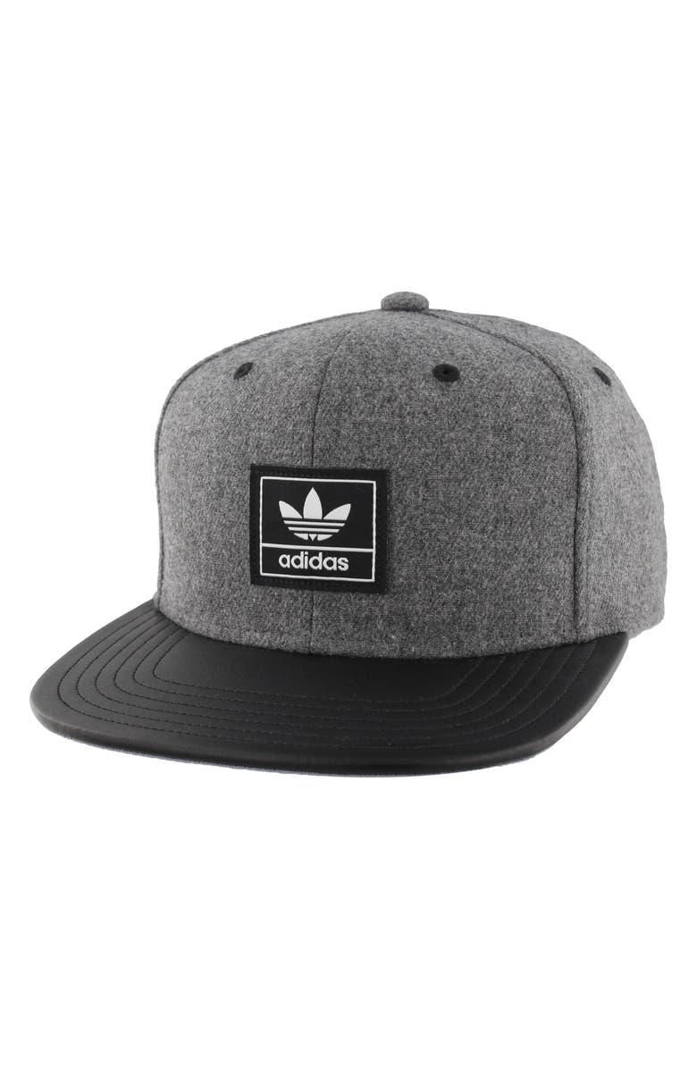 8c0a1a8997c1f2 ADIDAS ORIGINALS Trefoil Plus Snapback Baseball Cap, Main, color, 020