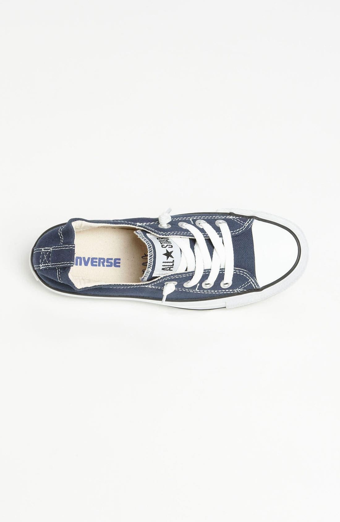 CONVERSE, Chuck Taylor<sup>®</sup> 'Shoreline' Sneaker, Alternate thumbnail 5, color, NAVY