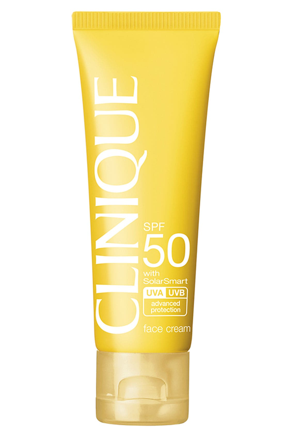 CLINIQUE, Sun Broad Spectrum SPF 50 Face Cream, Main thumbnail 1, color, NO COLOR