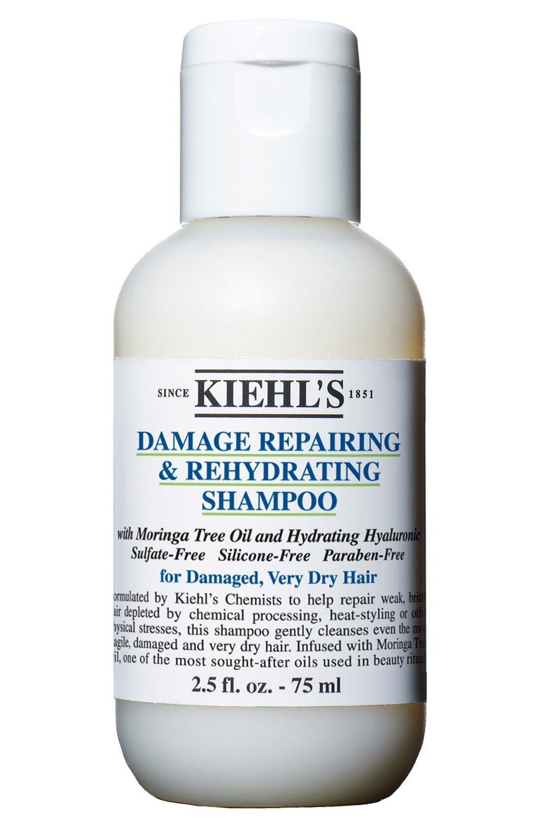 KIEHL'S SINCE 1851, Damage Repairing & Rehydrating Shampoo, Alternate thumbnail 4, color, NO COLOR
