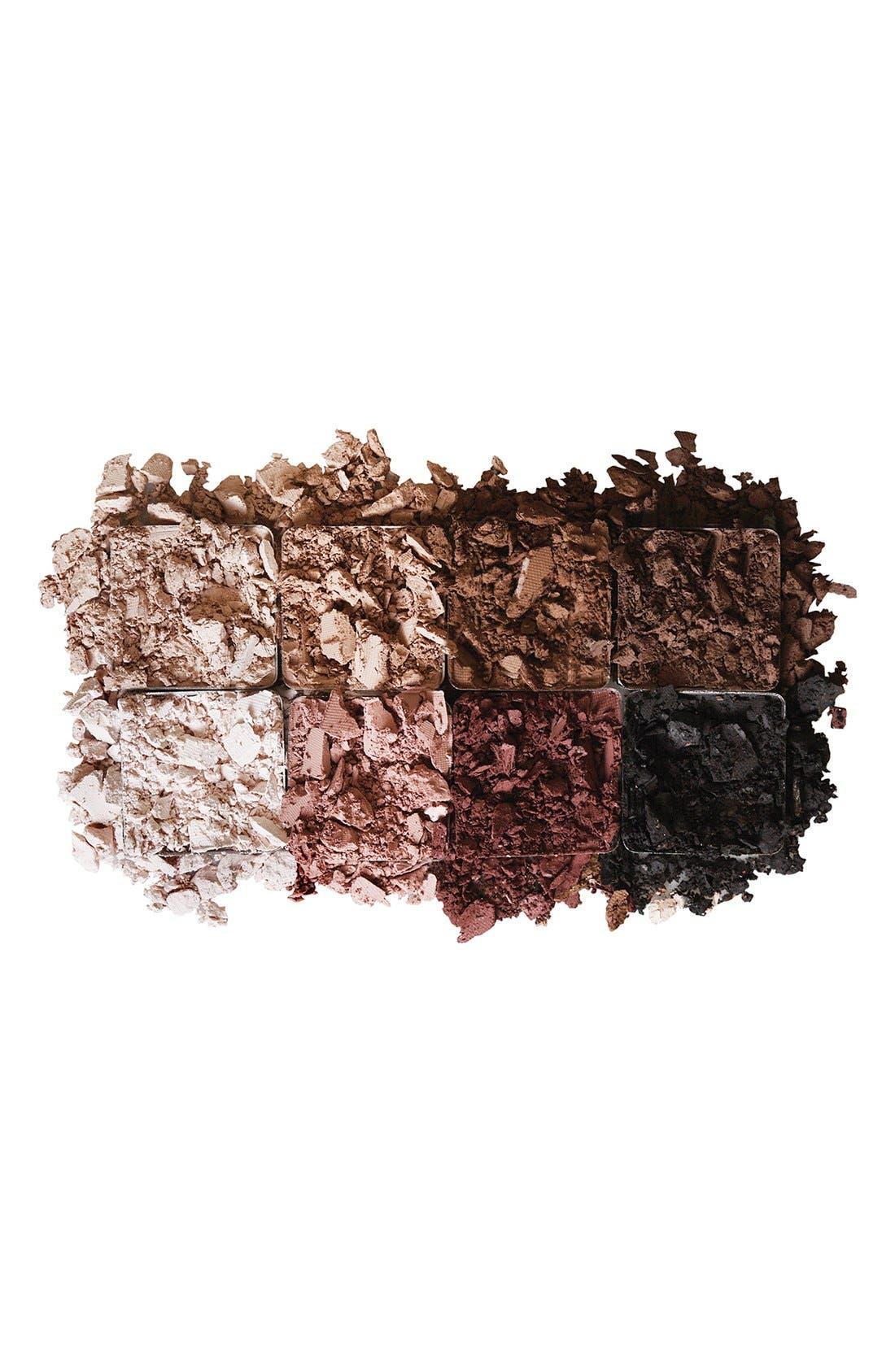 LORAC, 'PRO' Matte Eyeshadow Palette, Alternate thumbnail 2, color, 000