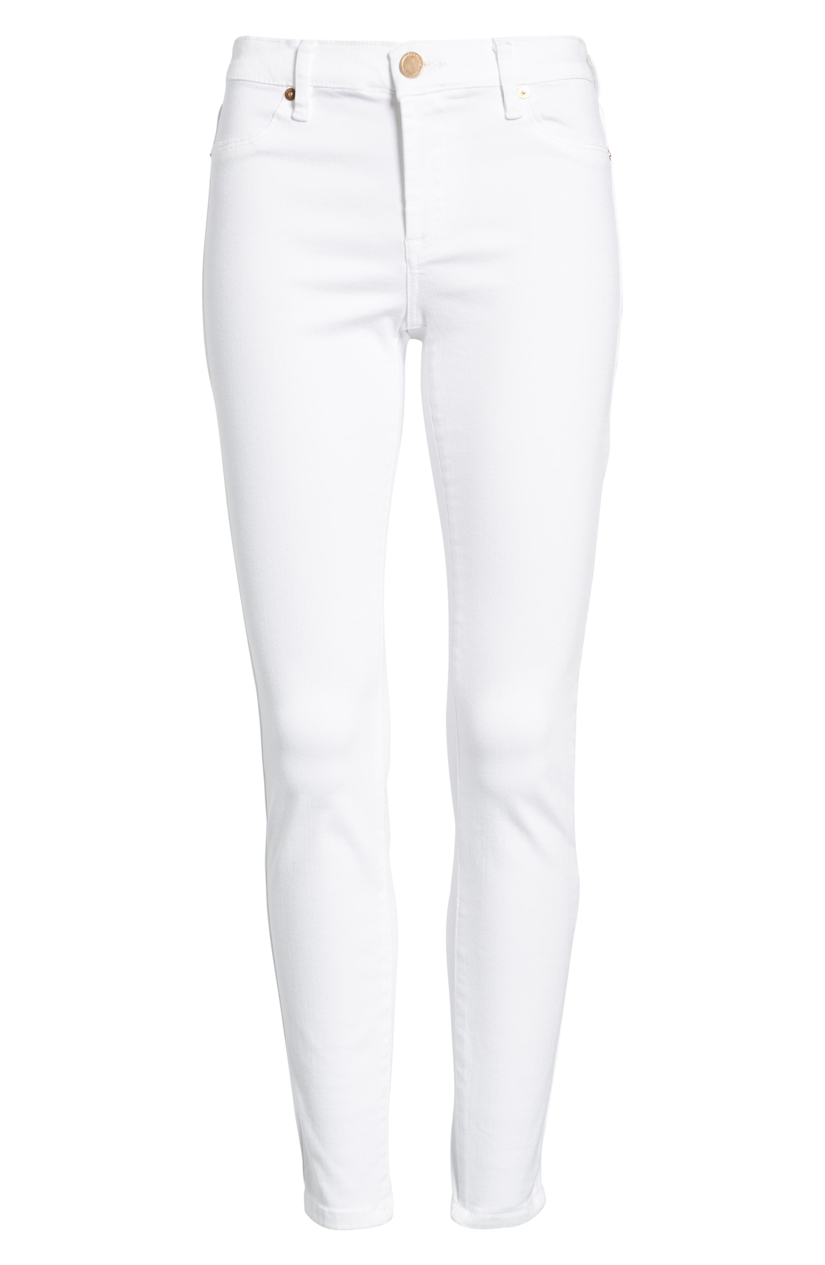 BLANKNYC, Skinny Jeans, Alternate thumbnail 7, color, GREAT WHITE
