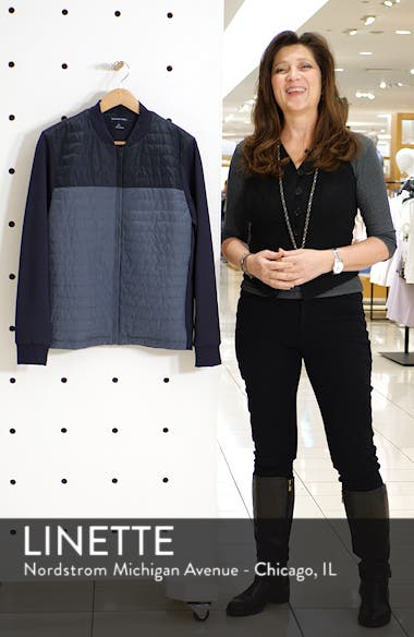 Montauk Quilted Bomber Jacket, sales video thumbnail