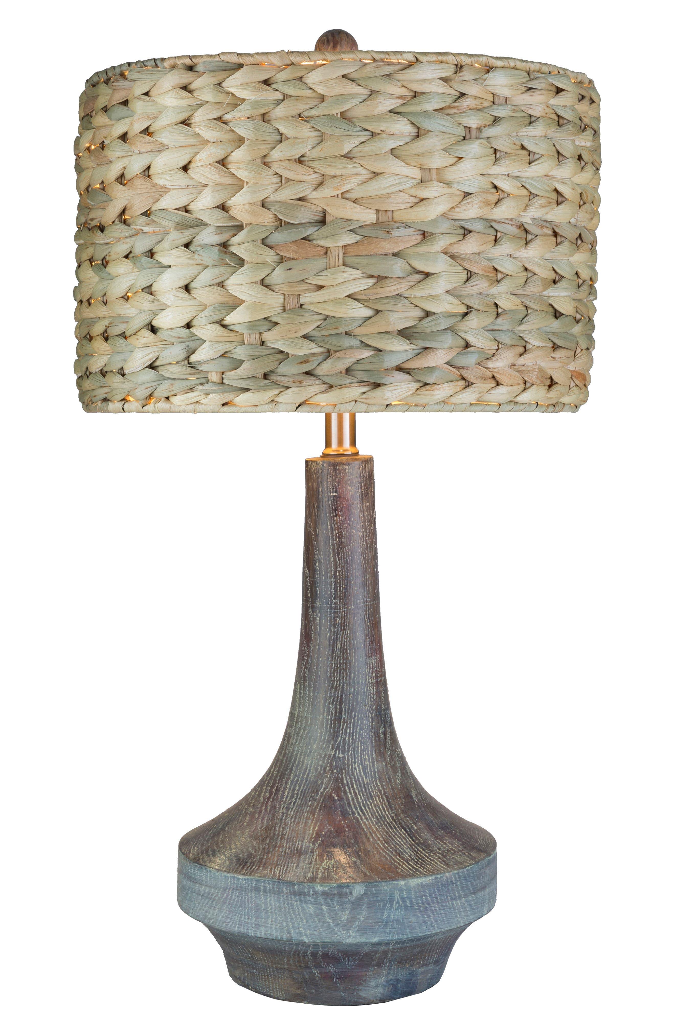 SURYA HOME, Carson Table Lamp, Alternate thumbnail 7, color, CAMEL