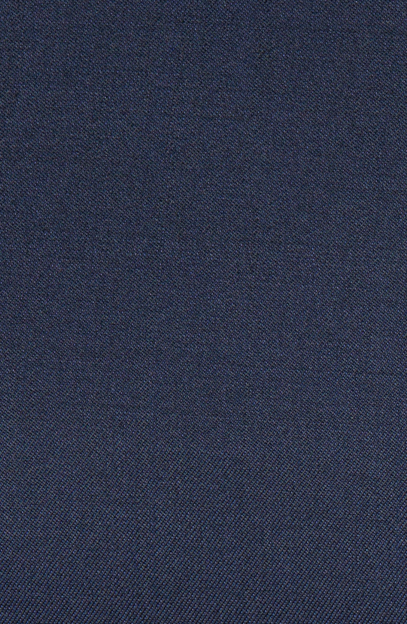 TED BAKER LONDON, Josh Trim Fit Navy Shawl Lapel Tuxedo, Alternate thumbnail 4, color, NAVY BLUE