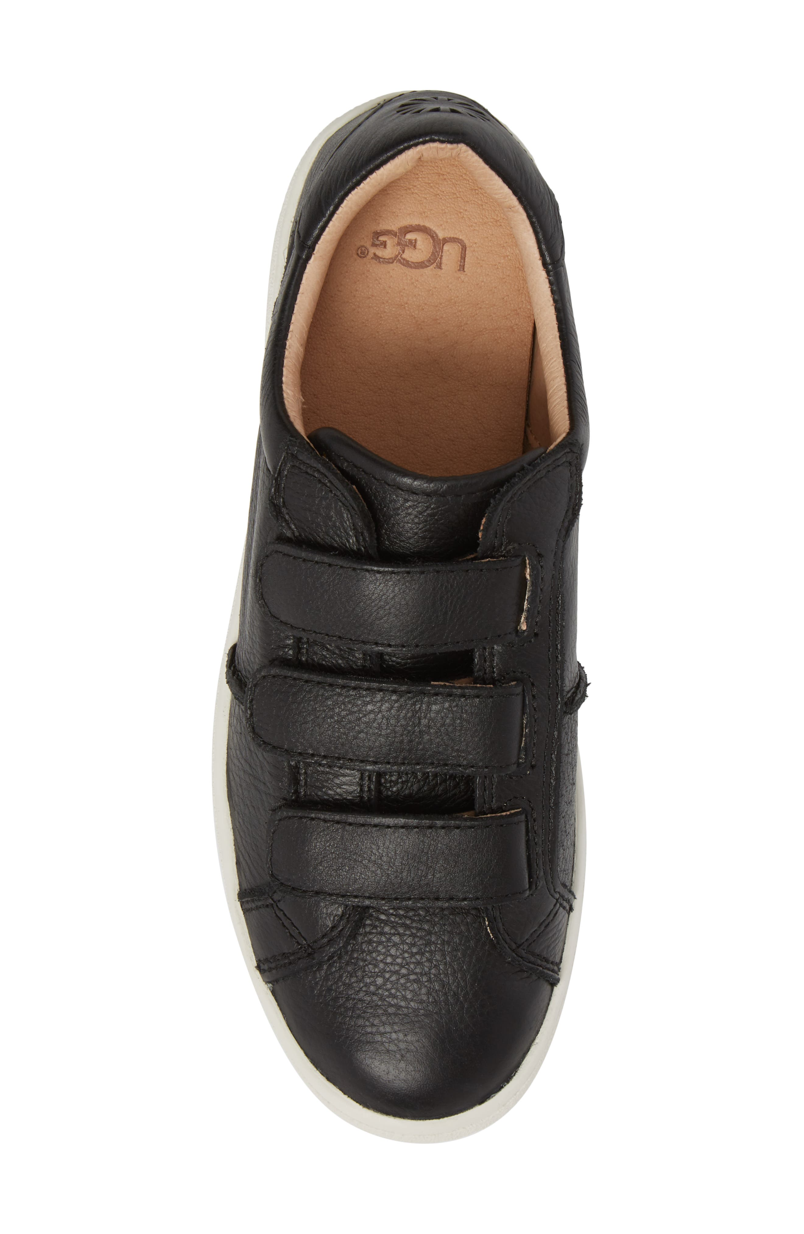 UGG<SUP>®</SUP>, Alix Sneaker, Alternate thumbnail 5, color, 001