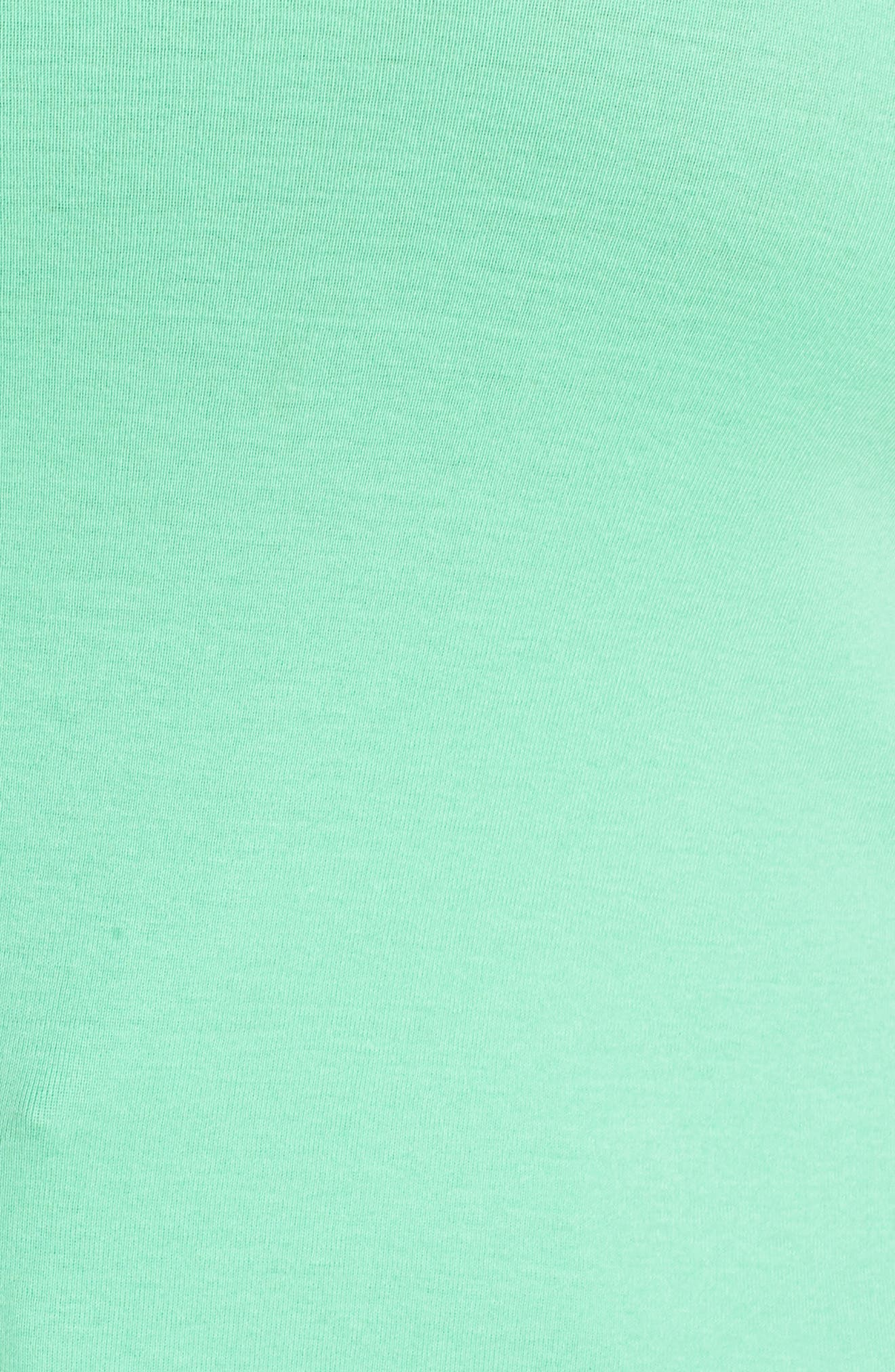 CASLON<SUP>®</SUP>, Long Sleeve Scoop Neck Cotton Tee, Alternate thumbnail 5, color, 330