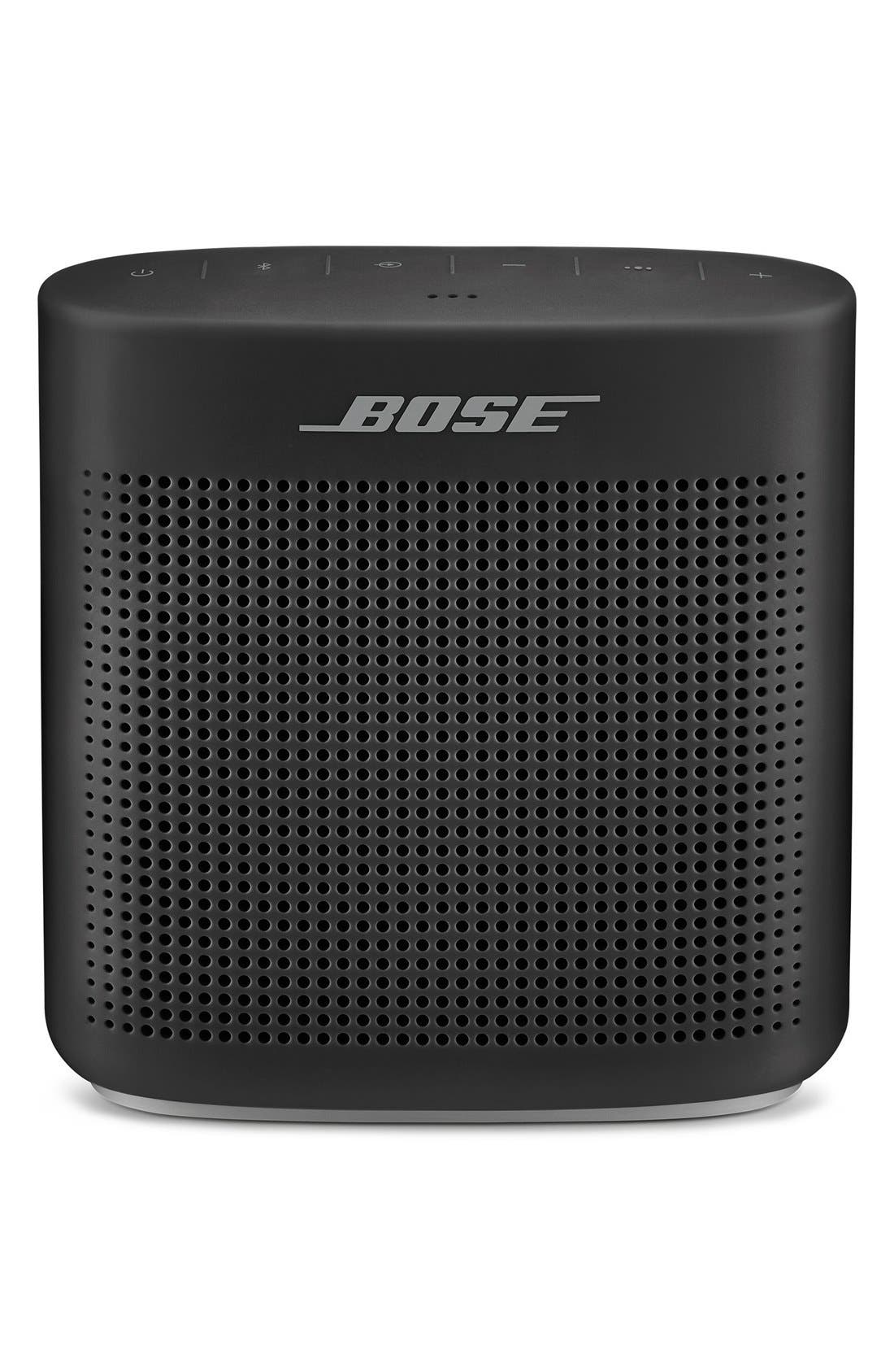 BOSE<SUP>®</SUP>, SoundLink<sup>®</sup> Color Bluetooth<sup>®</sup> Speaker II, Main thumbnail 1, color, SOFT BLACK