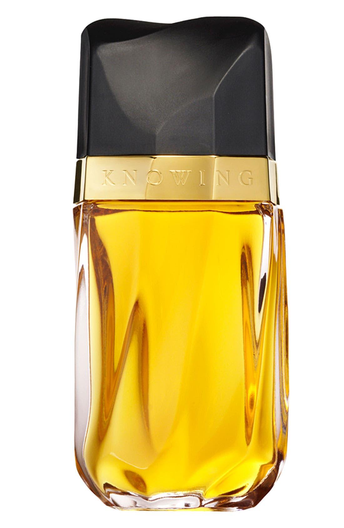 ESTÉE LAUDER, Knowing Eau de Parfum Spray, Main thumbnail 1, color, NO COLOR