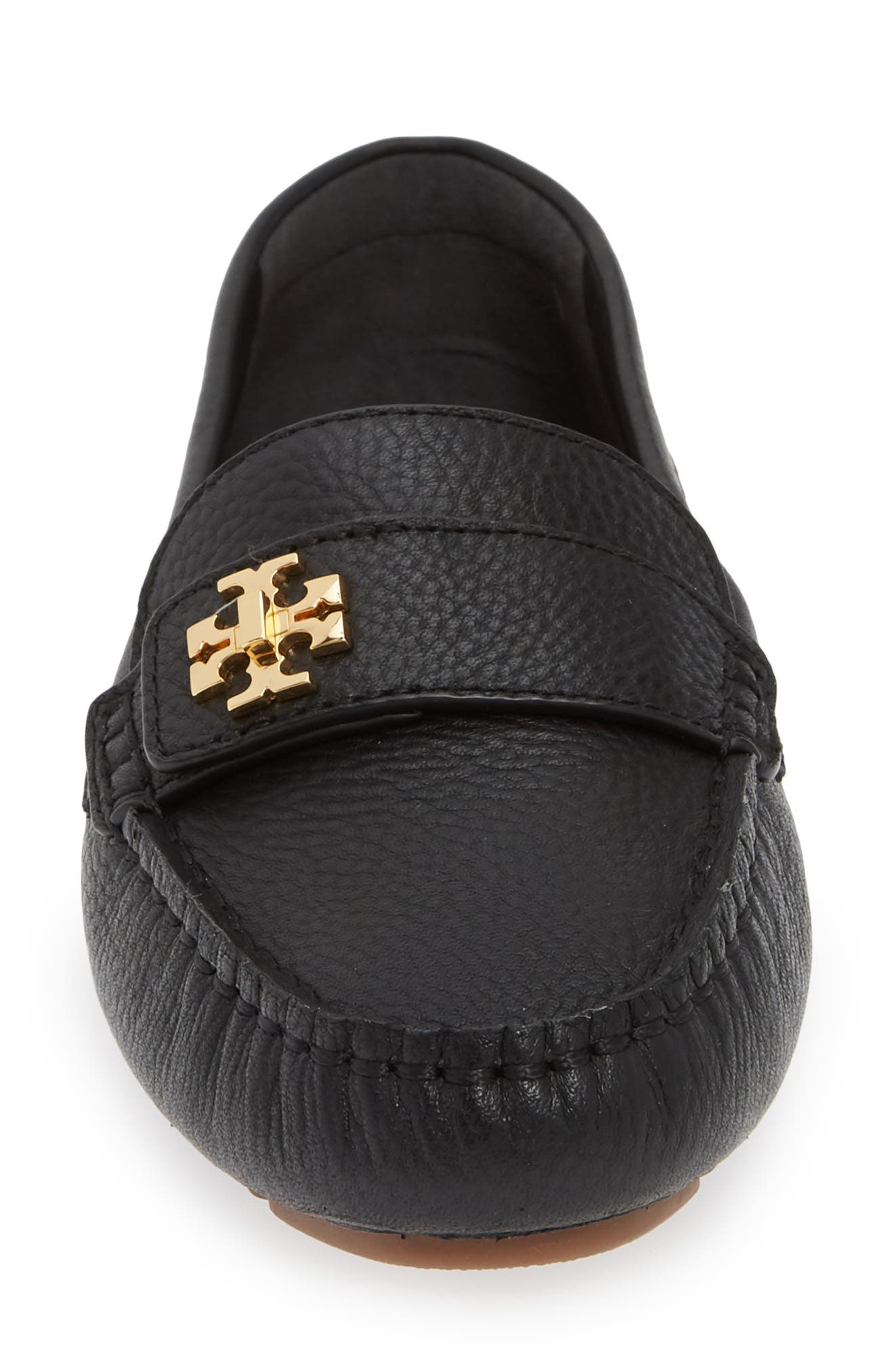 TORY BURCH, Kira Driving Loafer, Alternate thumbnail 4, color, PERFECT BLACK