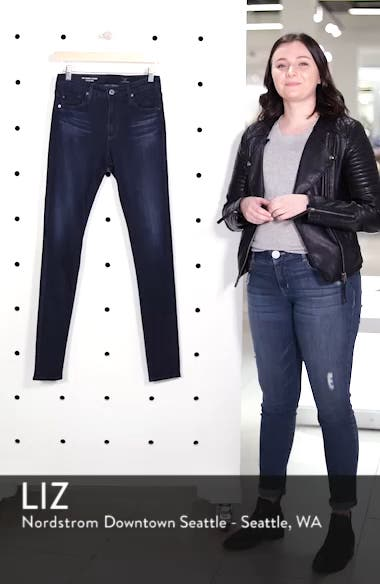 The Farrah High Waist Skinny Jeans, sales video thumbnail