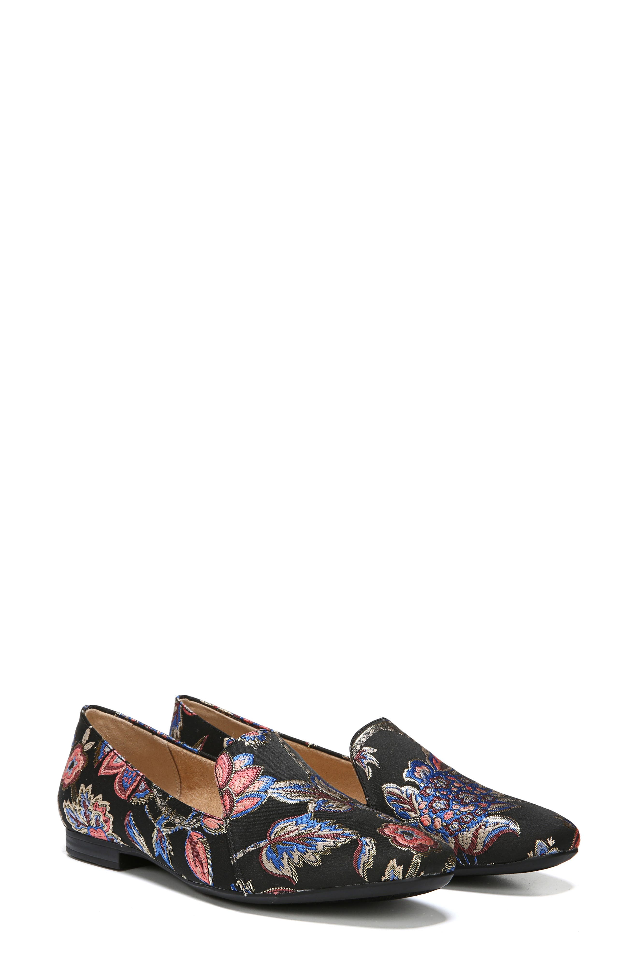 NATURALIZER, Emiline Flat Loafer, Alternate thumbnail 8, color, BROCADE