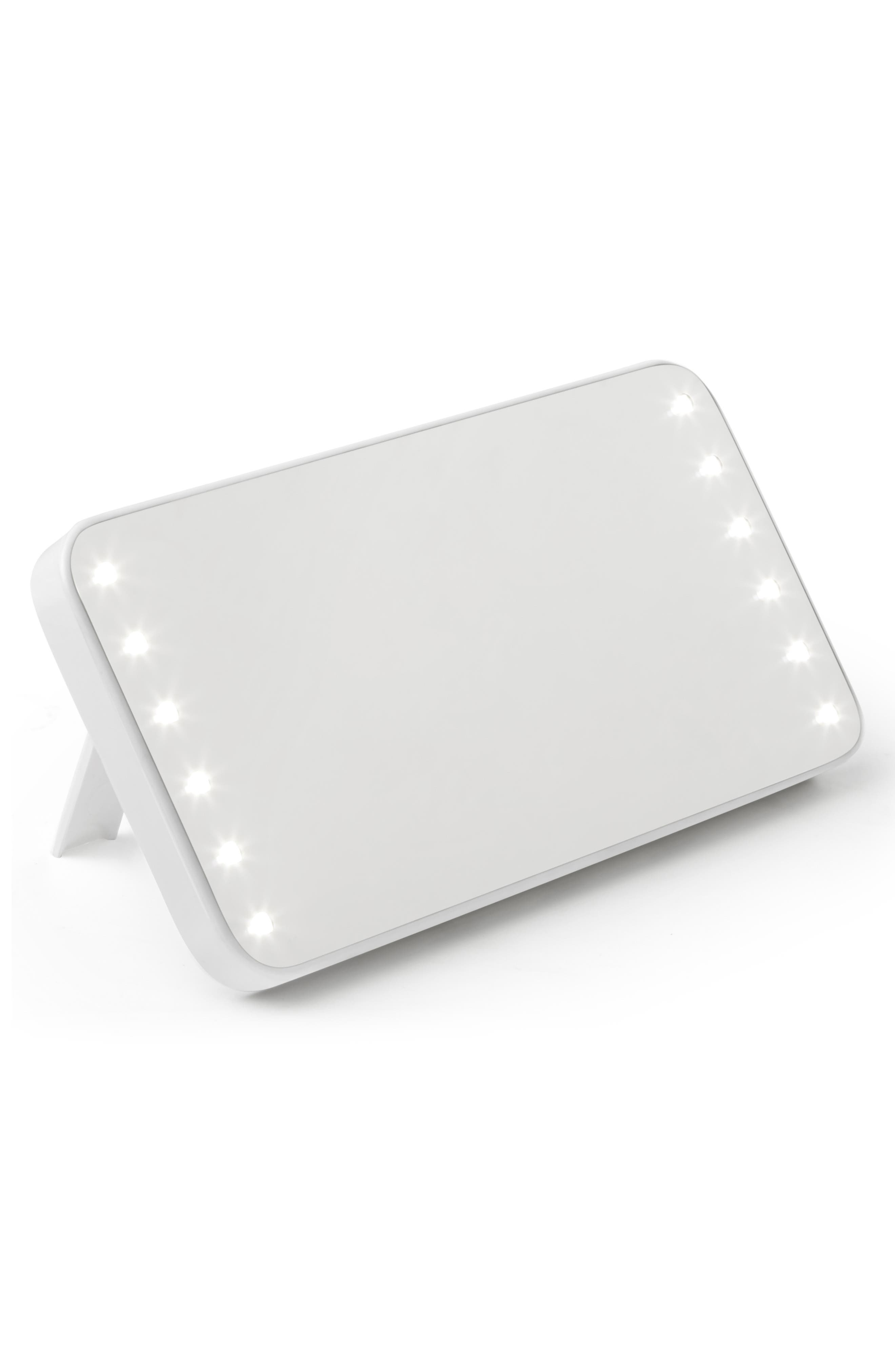 RIKI, Cutie Portable Lighted Mirror, Alternate thumbnail 3, color, NO COLOR