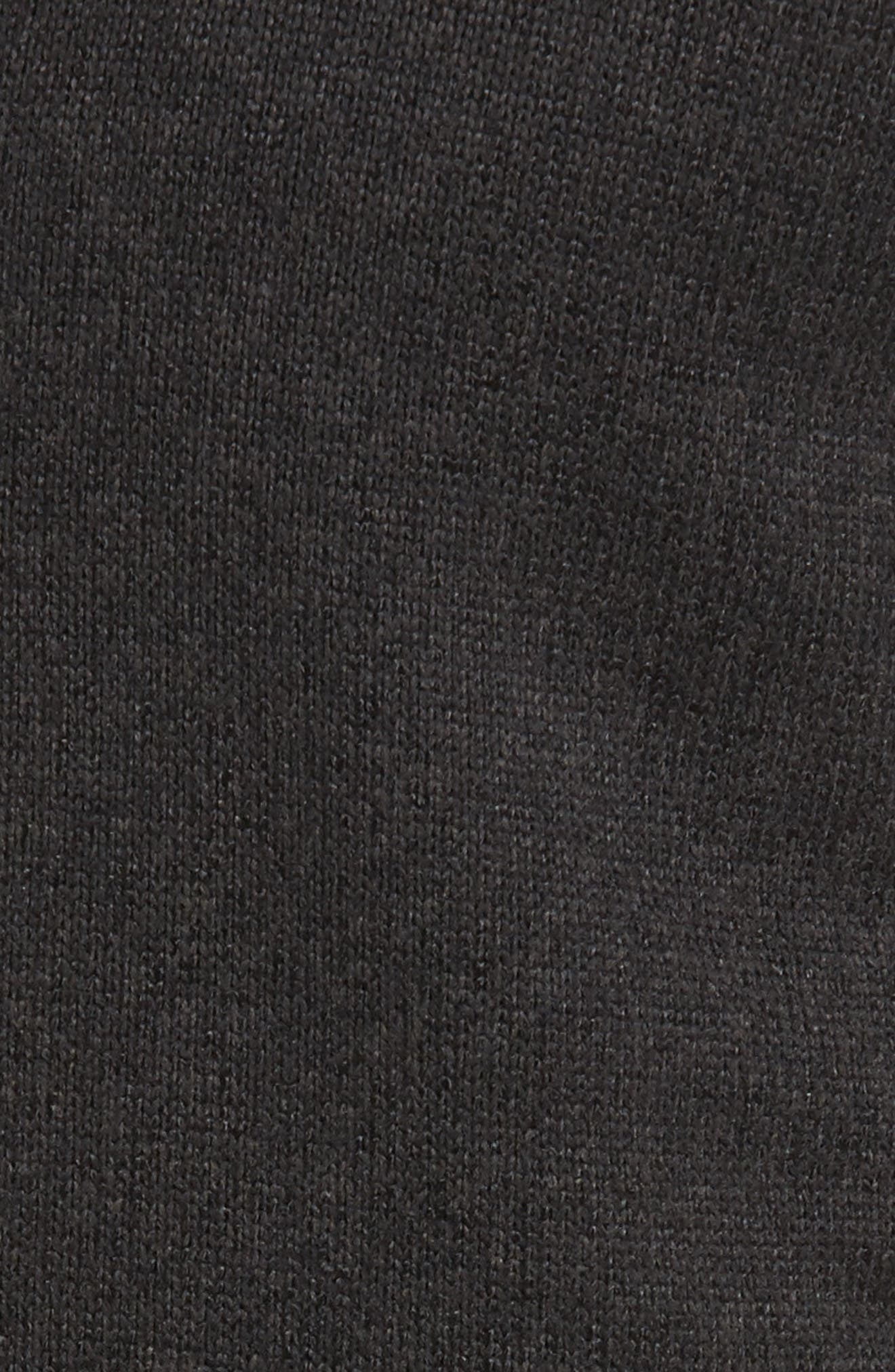 PATAGONIA, Better Sweater Zip Front Jacket, Alternate thumbnail 7, color, BLACK