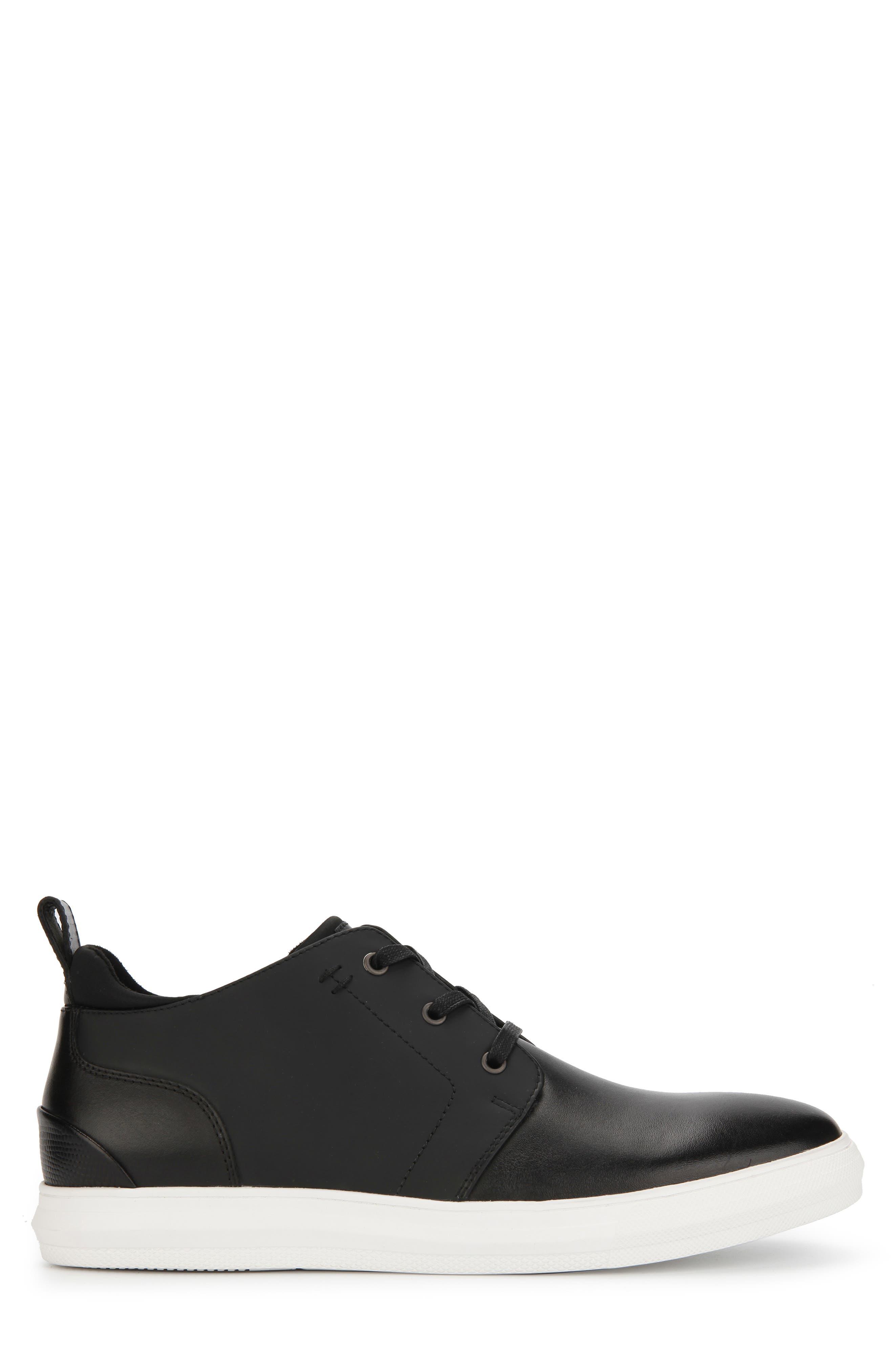 REACTION KENNETH COLE, Reemer Chukka Sneaker, Alternate thumbnail 2, color, BLACK