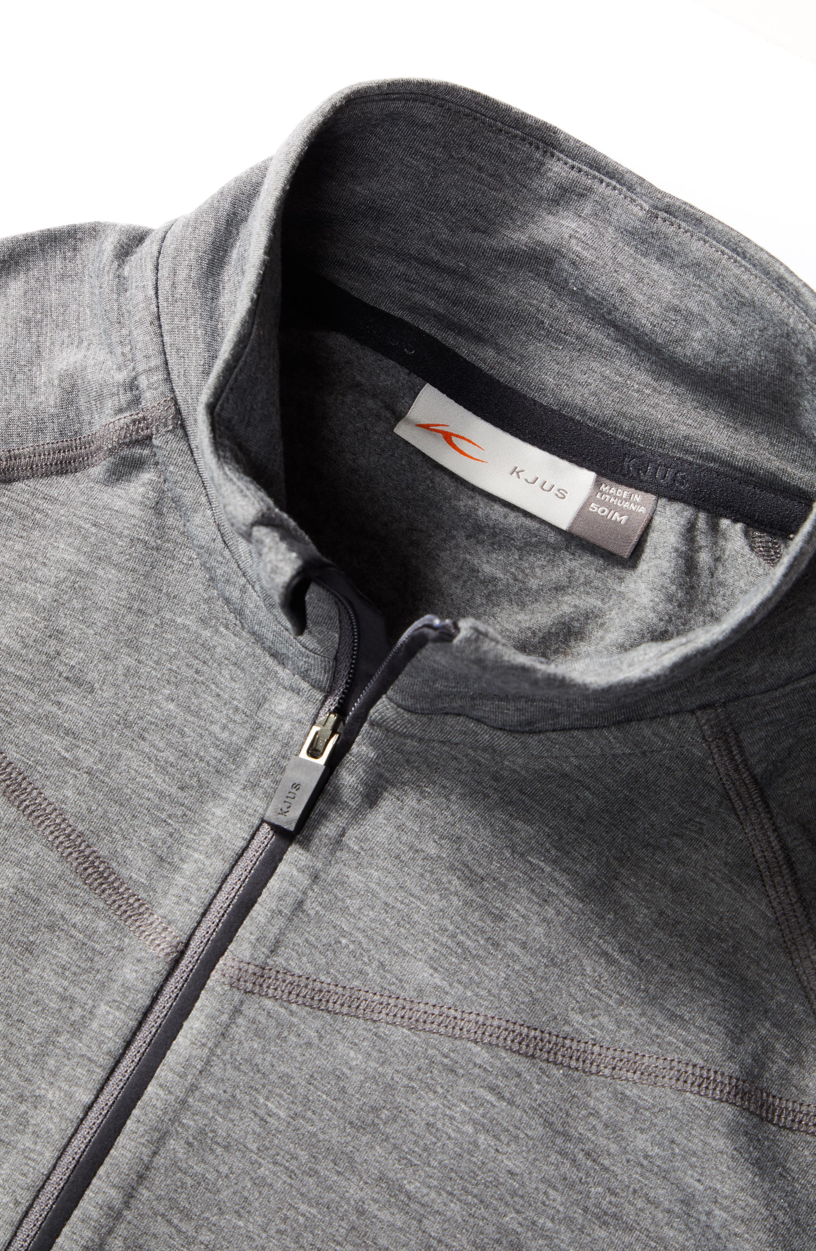 KJUS, Trace Half Zip Pullover, Alternate thumbnail 6, color, 020