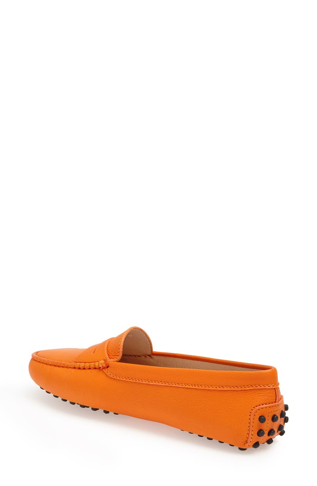 TOD'S, 'Gommini' Driving Moccasin, Alternate thumbnail 6, color, 800