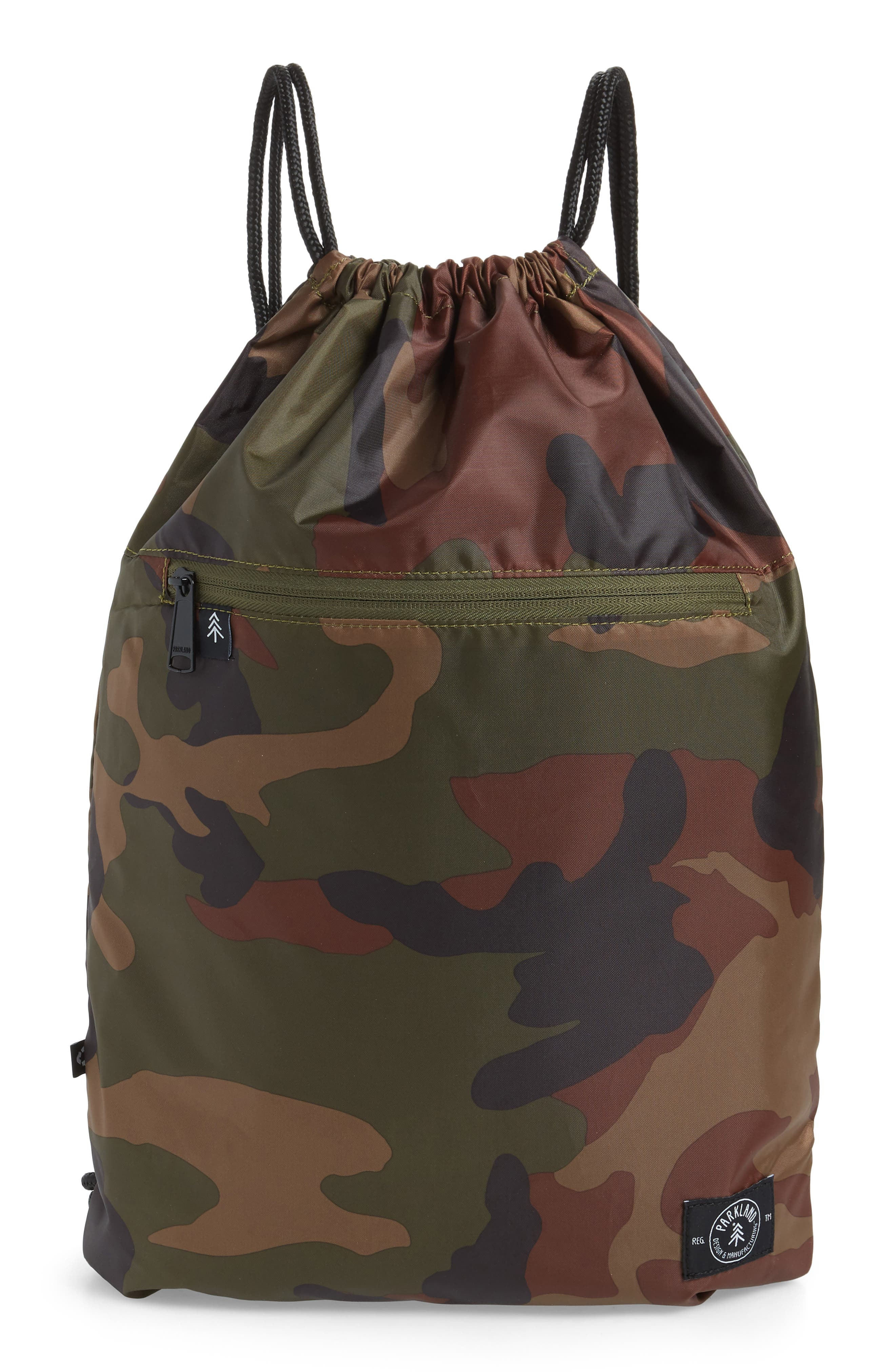 PARKLAND The Rider Backpack, Main, color, CLASSIC CAMO