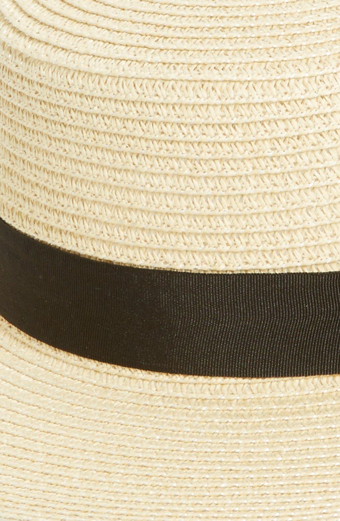 BP., Straw Boater Hat, Alternate thumbnail 2, color, 250