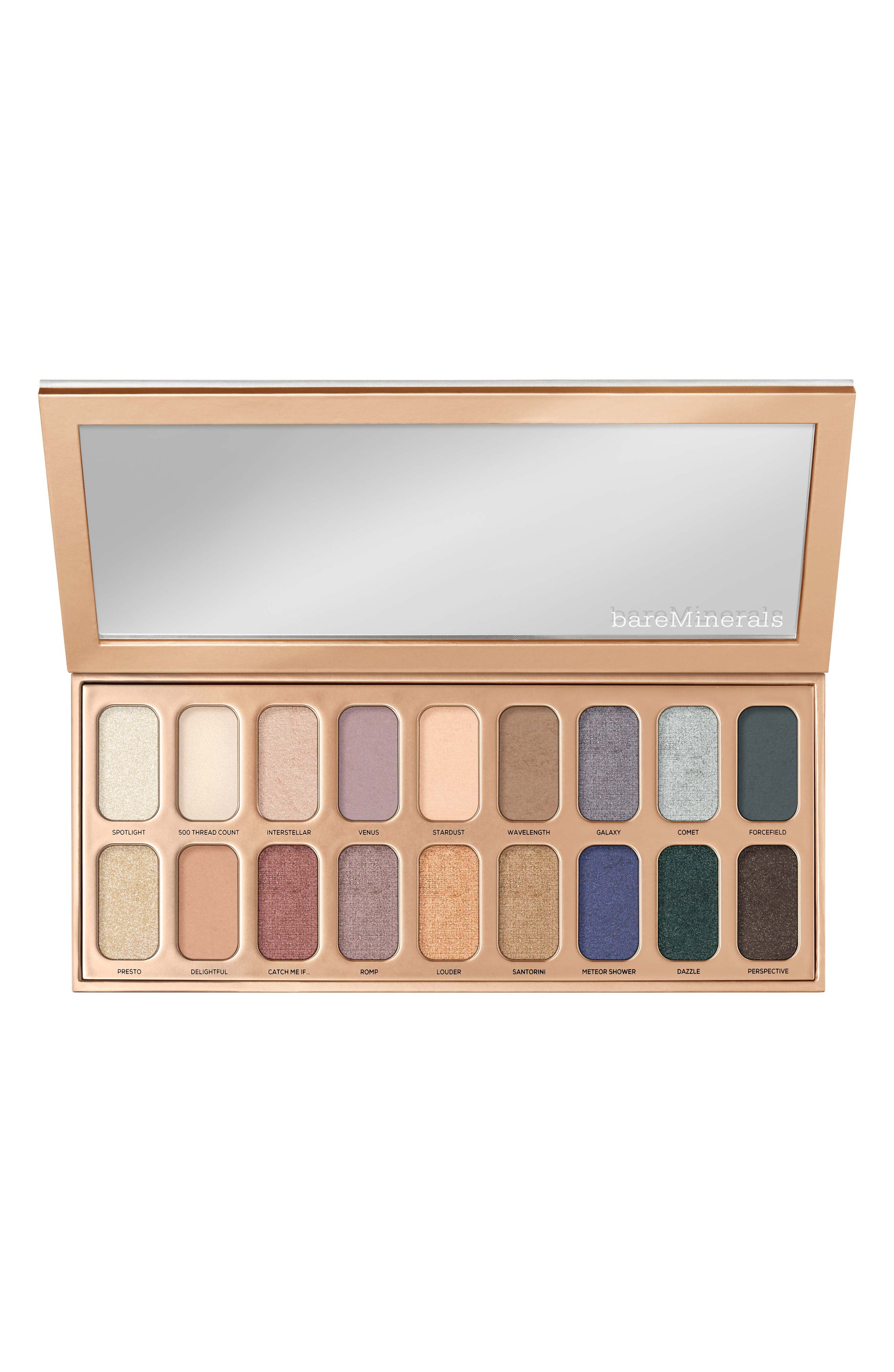 BAREMINERALS<SUP>®</SUP>, Aurora Lights Gen Nude Eyeshadow Palette, Alternate thumbnail 2, color, NO COLOR