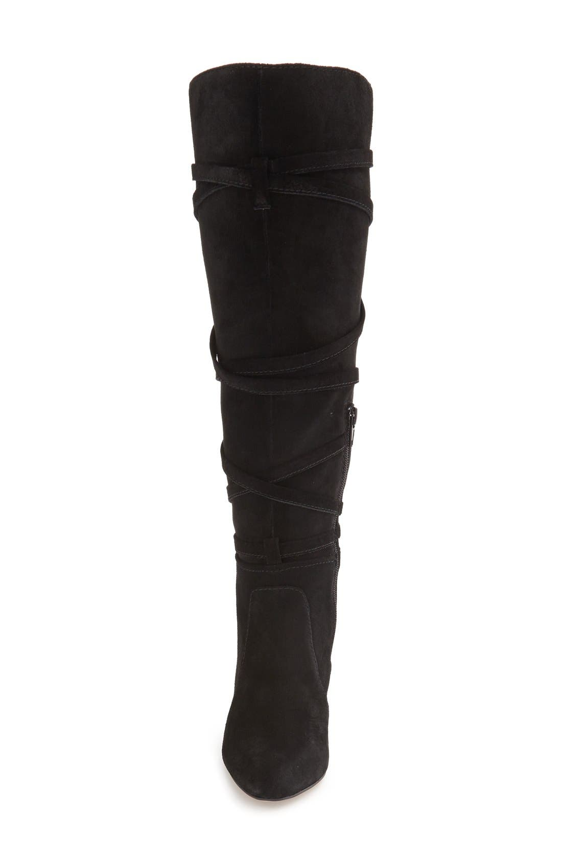 VINCE CAMUTO, 'Millay' Knee High Boot, Alternate thumbnail 4, color, 002