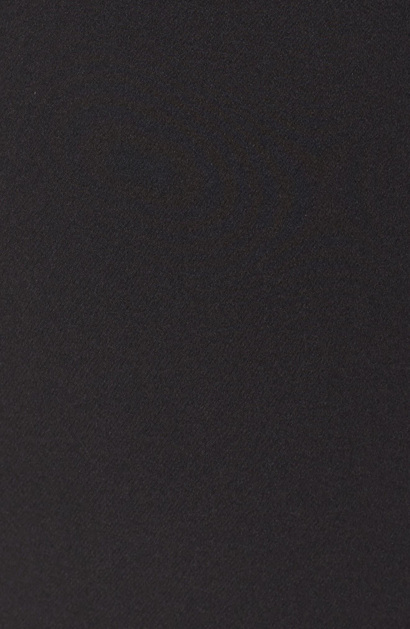 VINCE CAMUTO, Ankle Pants, Alternate thumbnail 6, color, RICH BLACK