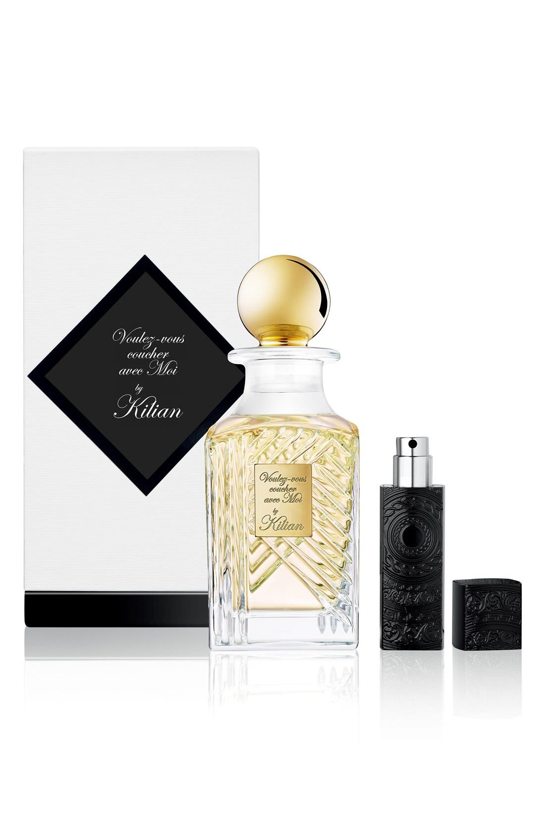 KILIAN, 'In the Garden of Good and Evil - Voulez-vous coucher avec Moi' Mini Fragrance Carafe, Alternate thumbnail 3, color, NO COLOR