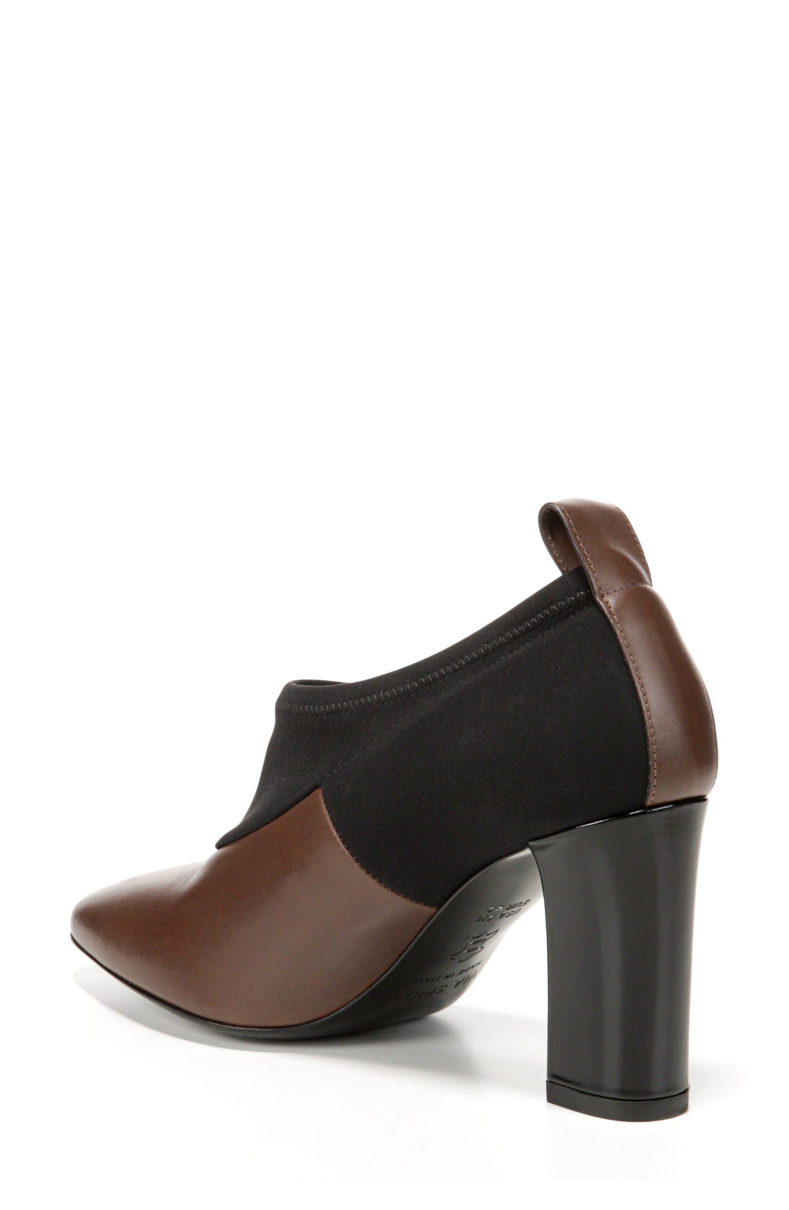 VIA SPIGA, Bayne Block Heel Bootie, Alternate thumbnail 2, color, 250