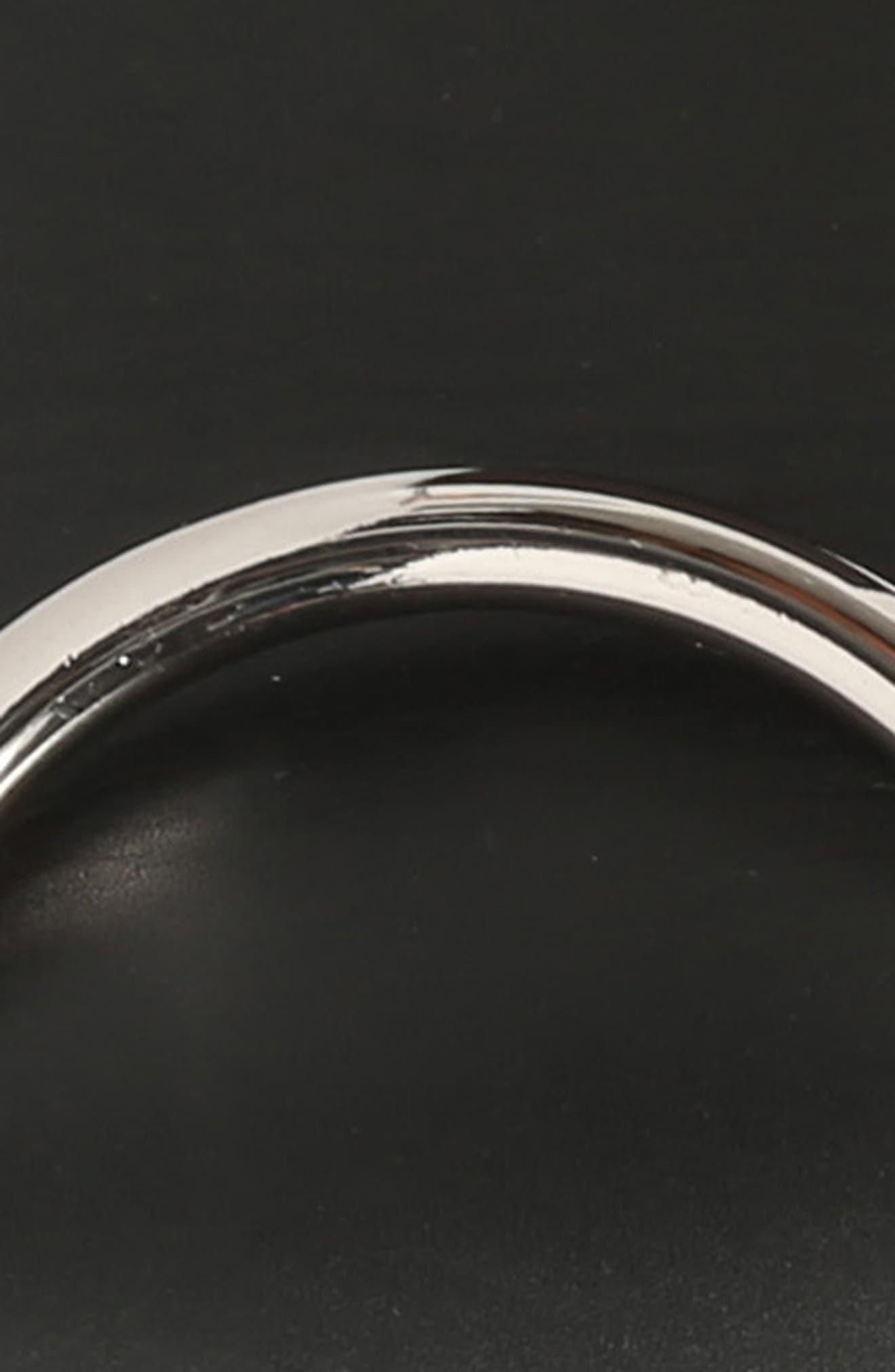 MAX MARA, Curt Circle Buckle Leather Belt, Alternate thumbnail 4, color, 001