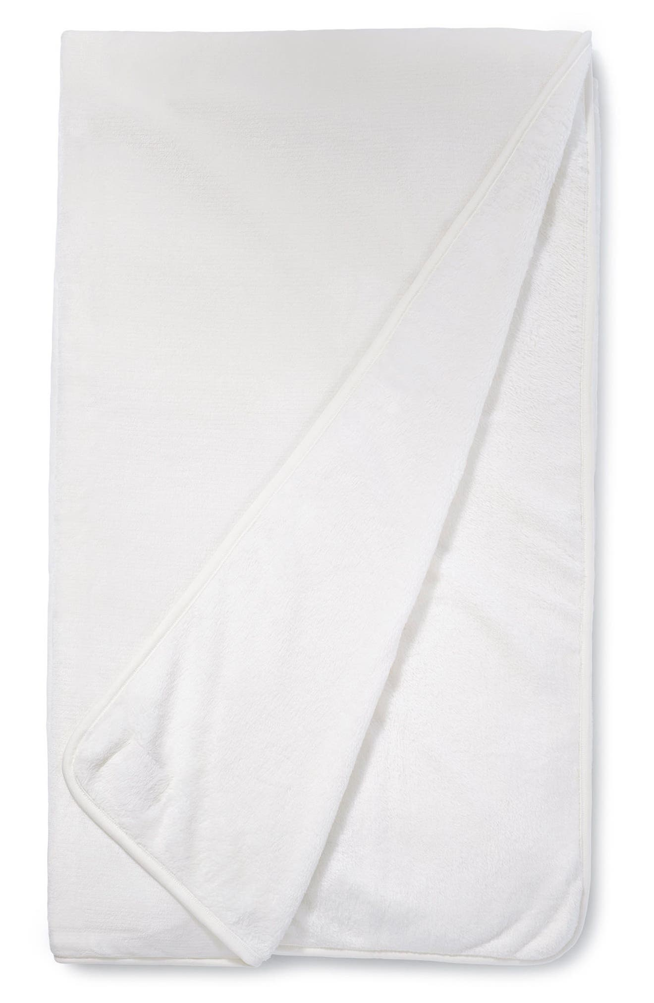 UGG<SUP>®</SUP>, XL Duffield Spa Throw, Alternate thumbnail 3, color, CREAM