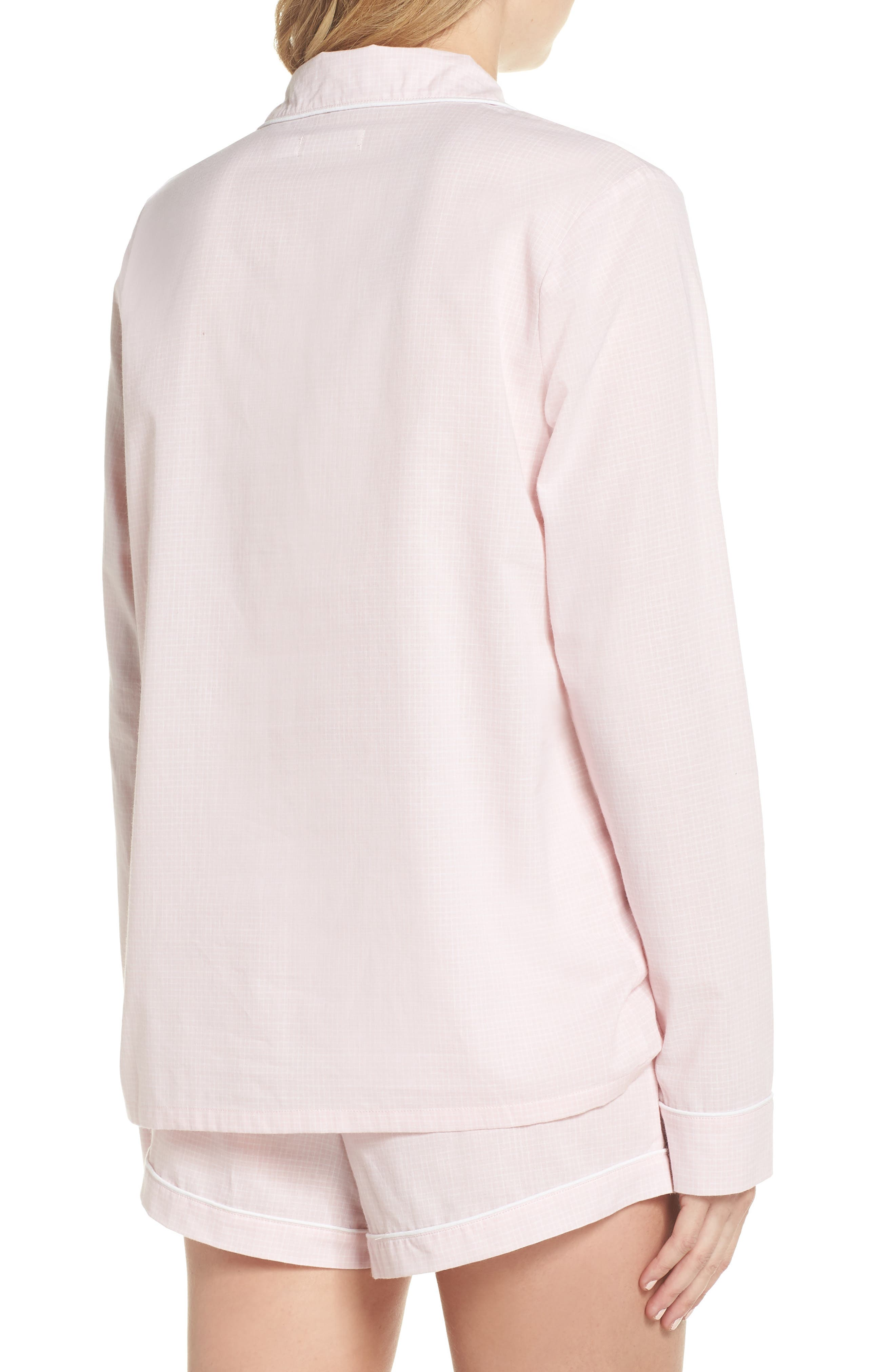 UGG<SUP>®</SUP>, Cassandra Check Pajamas, Alternate thumbnail 2, color, 656