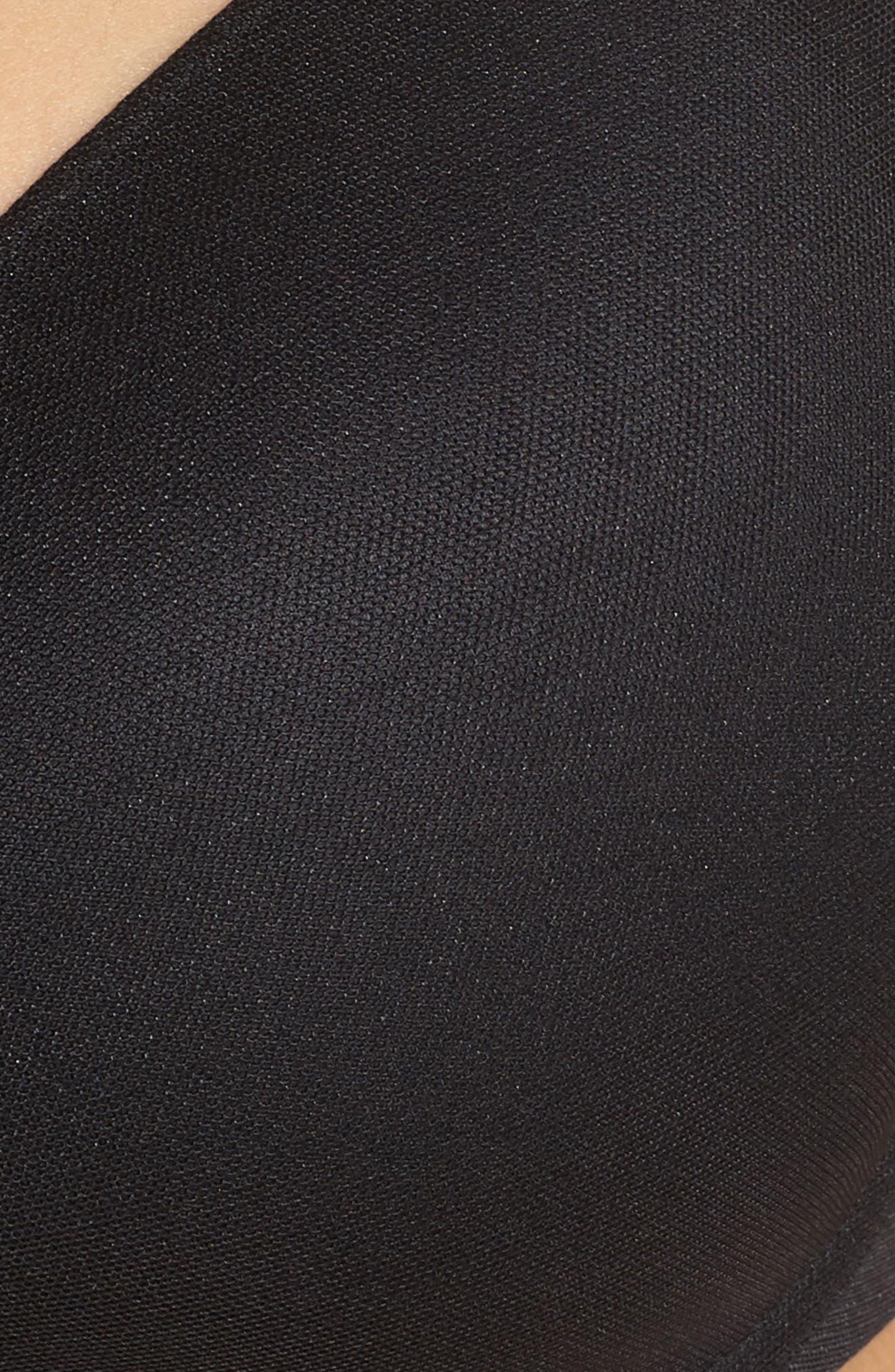 CHANTELLE LINGERIE, Smooth Full Coverage Underwire T-Shirt Bra, Alternate thumbnail 7, color, BLACK